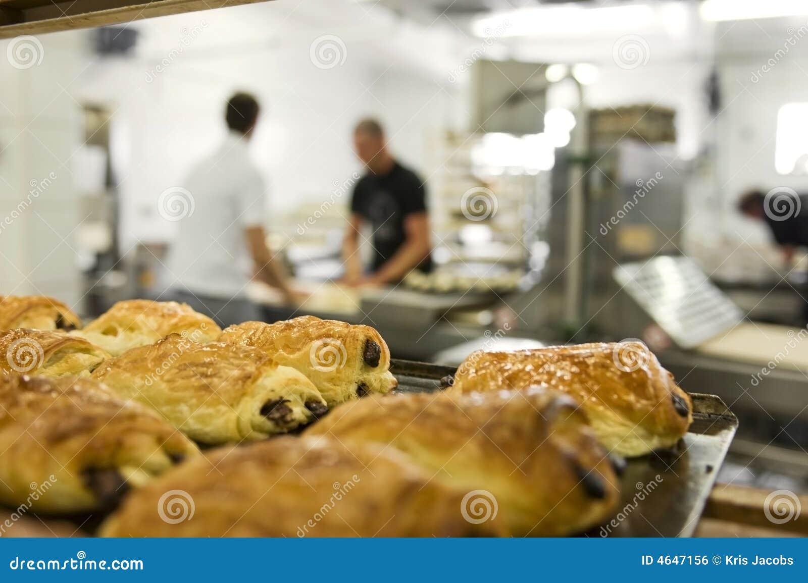 Trabalho em uma padaria