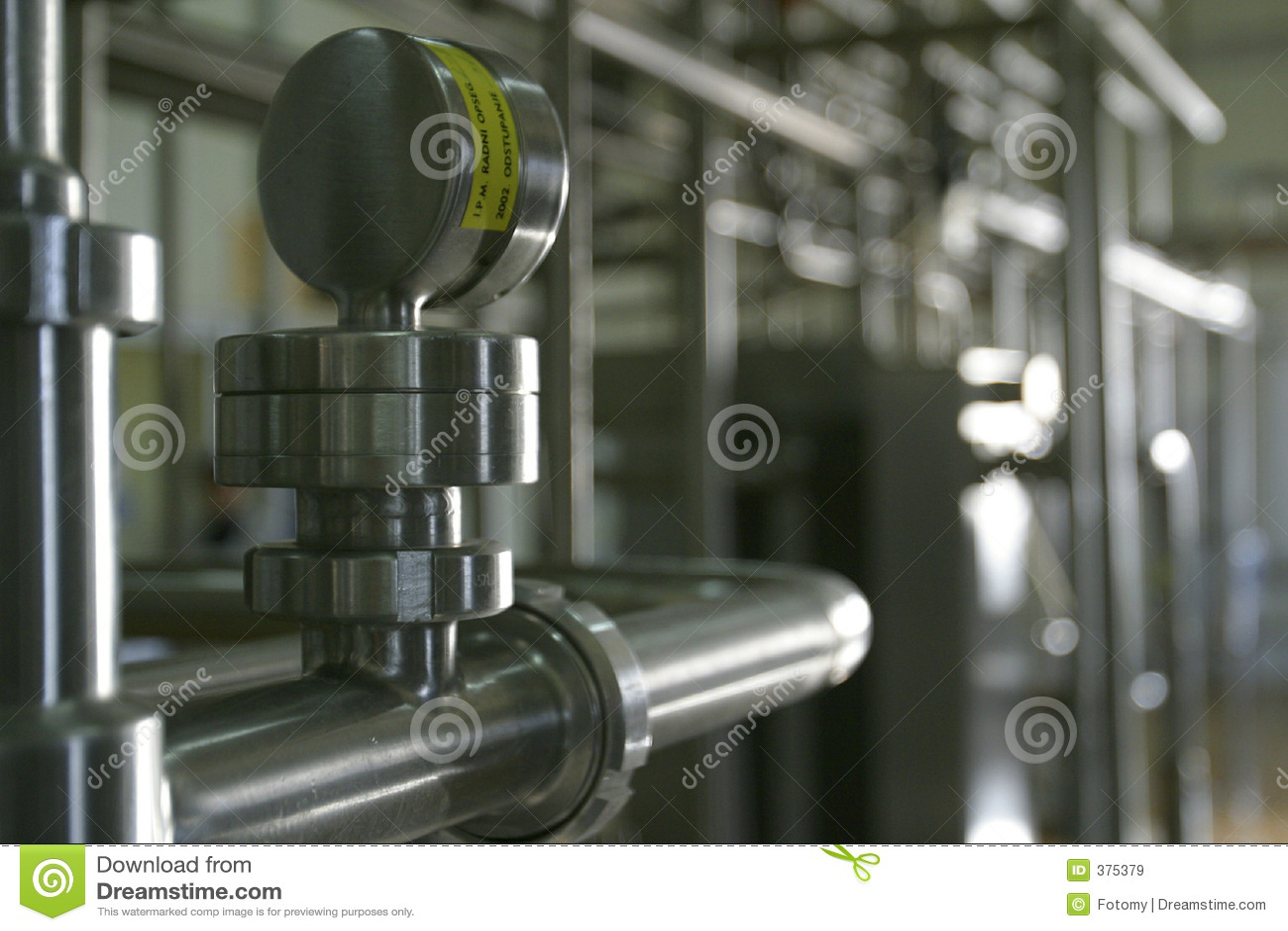 Trabalho inoxidável industrial da tubulação de aço