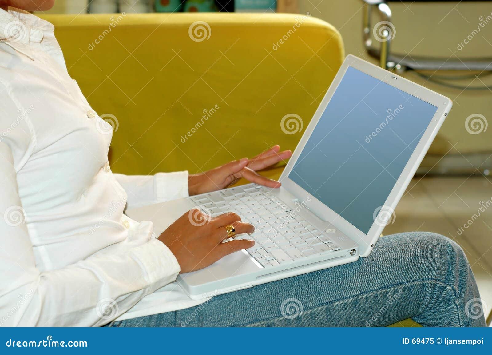 Trabalho no computador