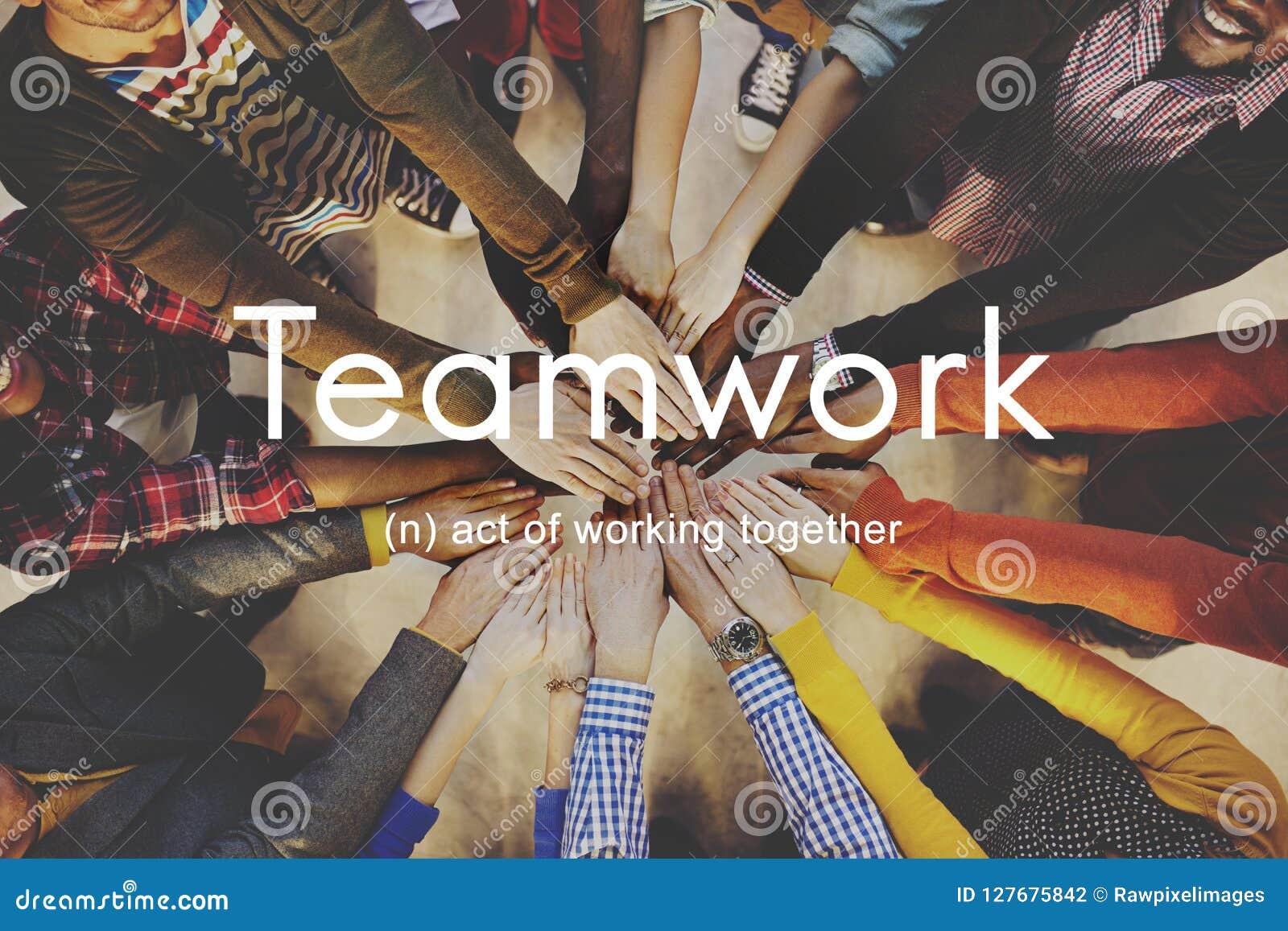 Trabalhos de equipa Alliance Colaboração Empresa Team Concept