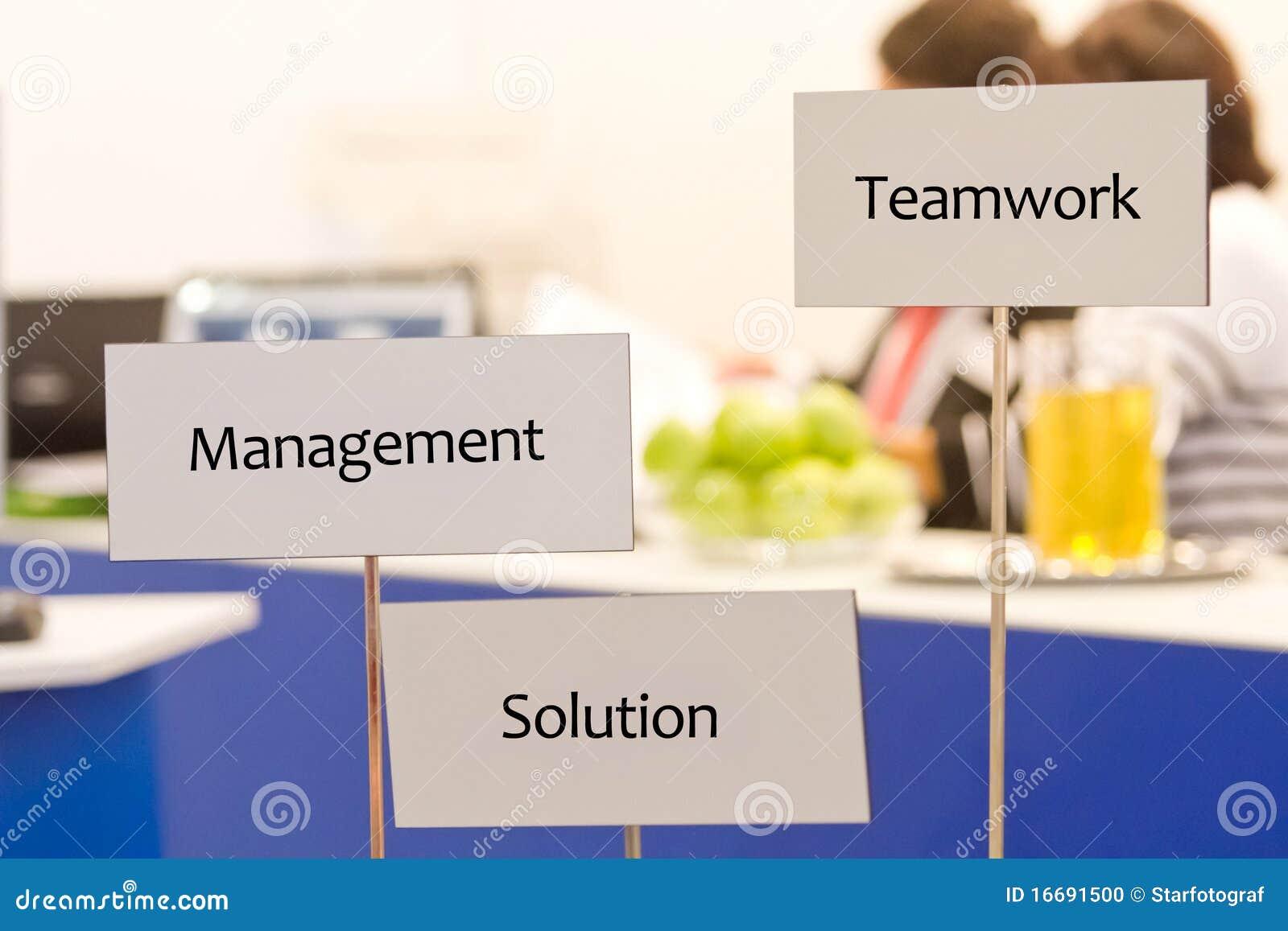Trabalhos de equipa e solução