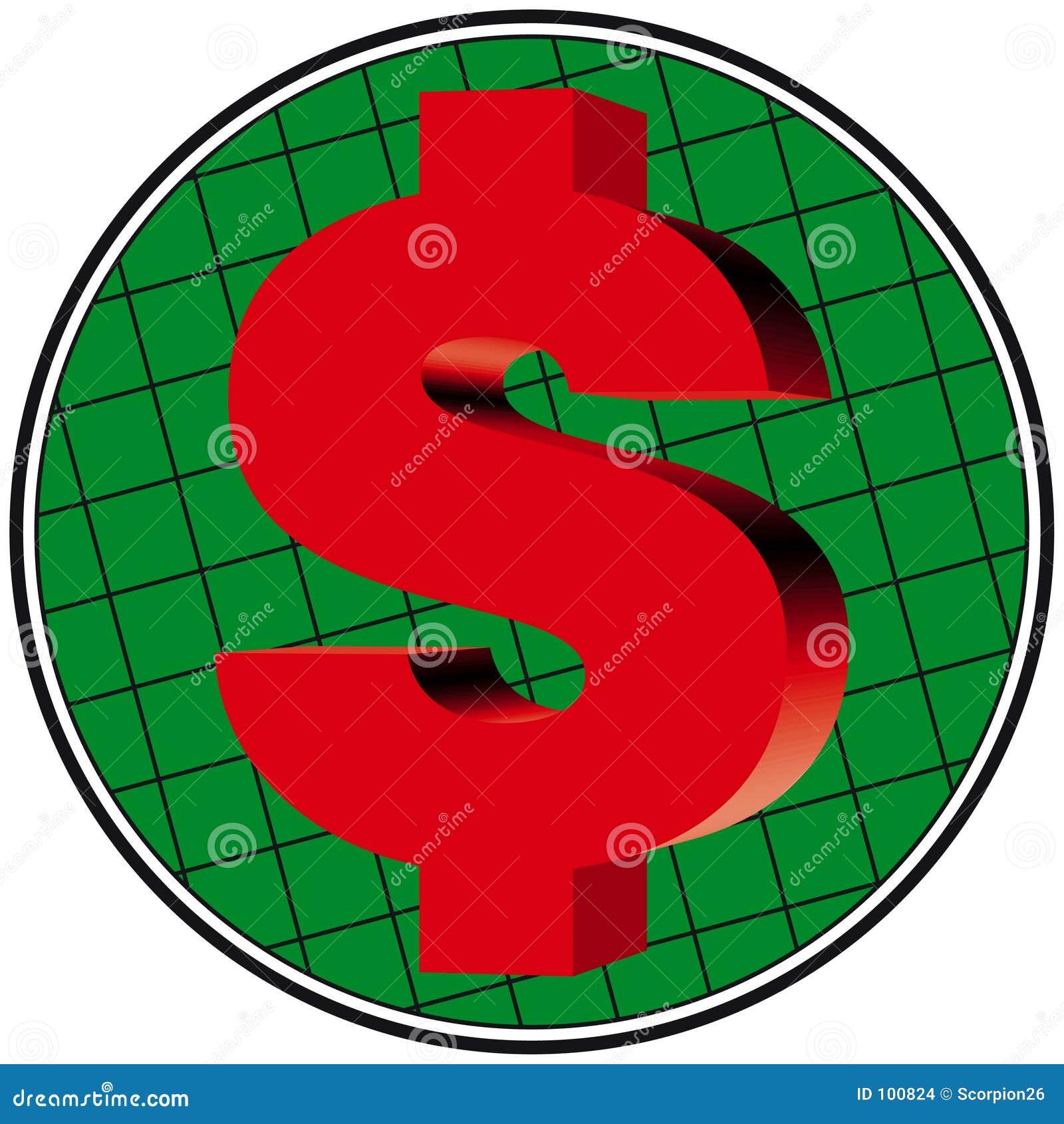 Trabalhos do dólar 3D