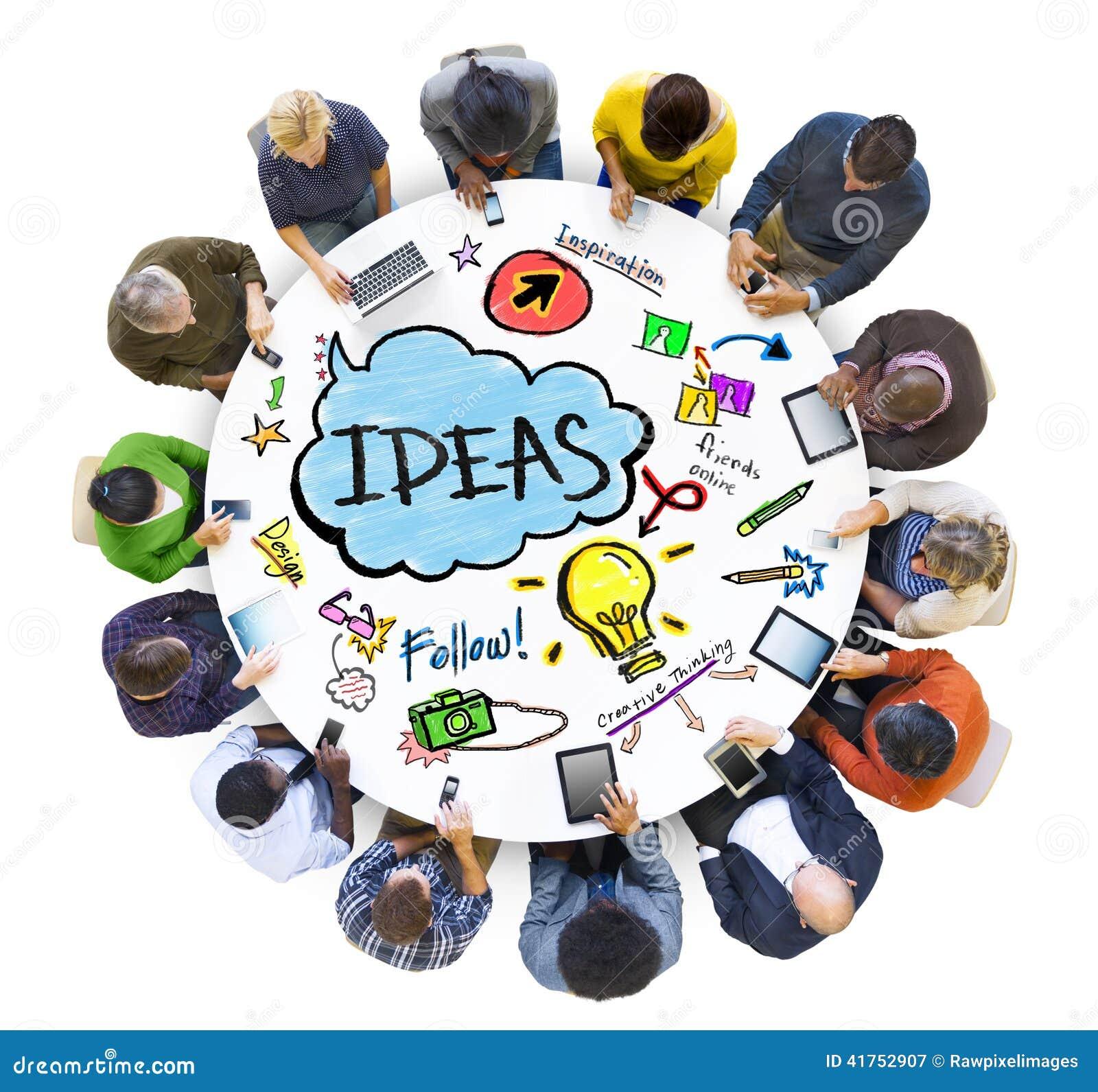 Trabalhos em rede sociais dos povos conceitos das ideias