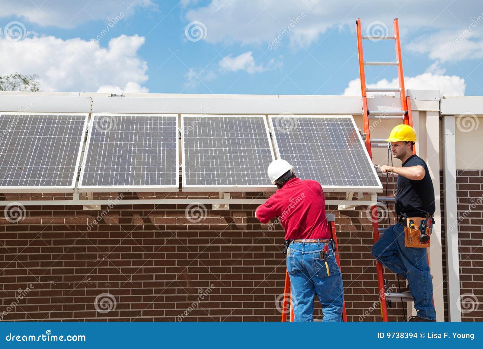 Trabalhos verdes - potência solar