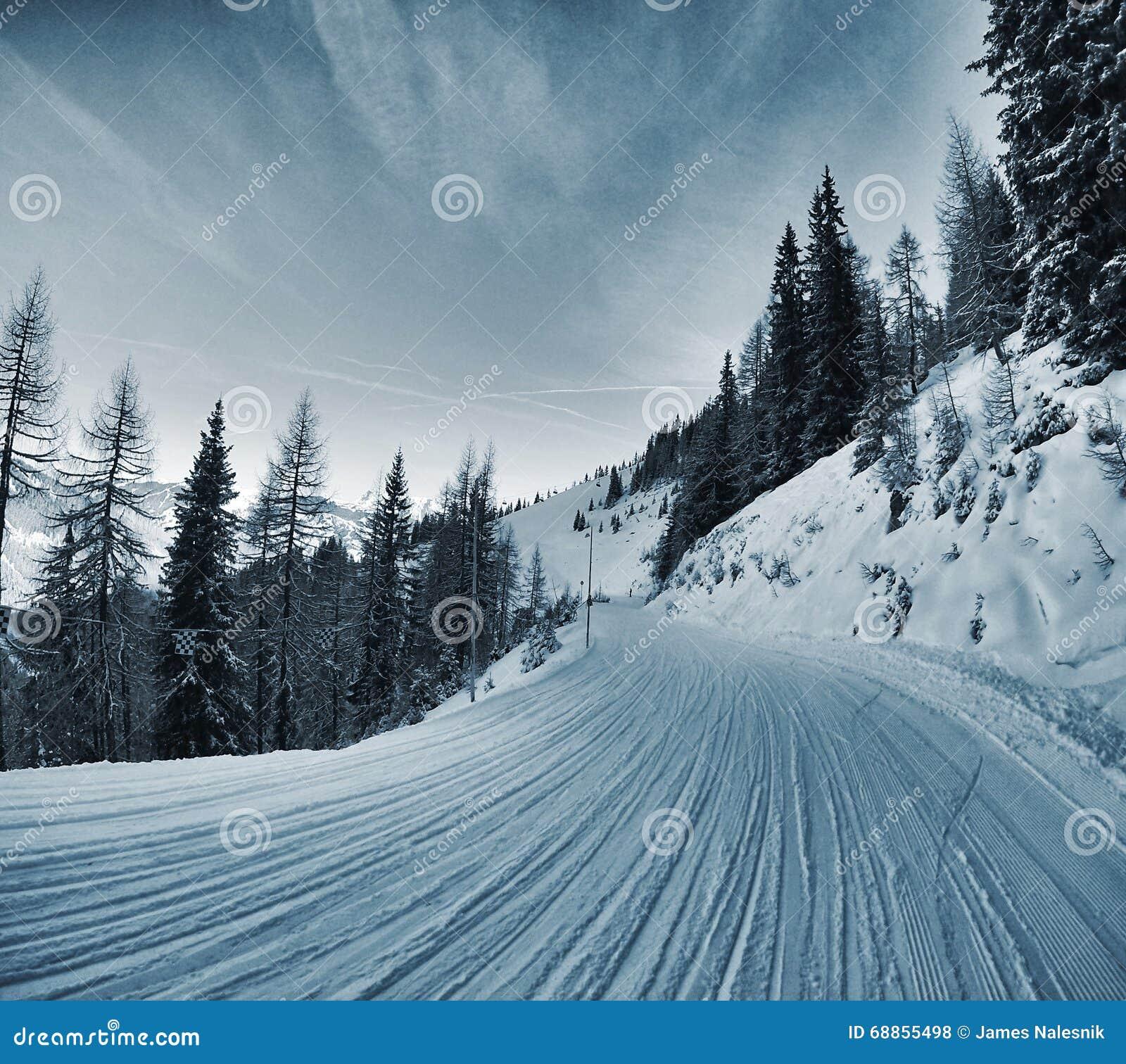 Tracce della neve