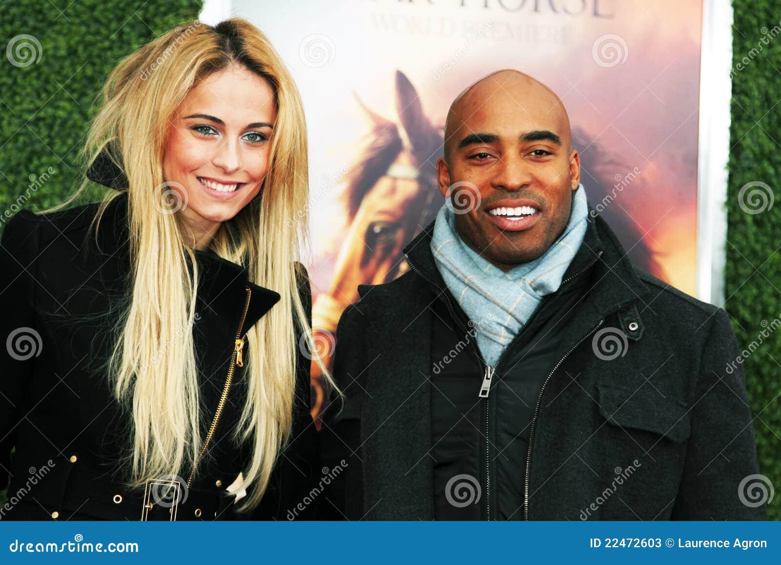 Traci Lynn Johnson and Tiki Barber