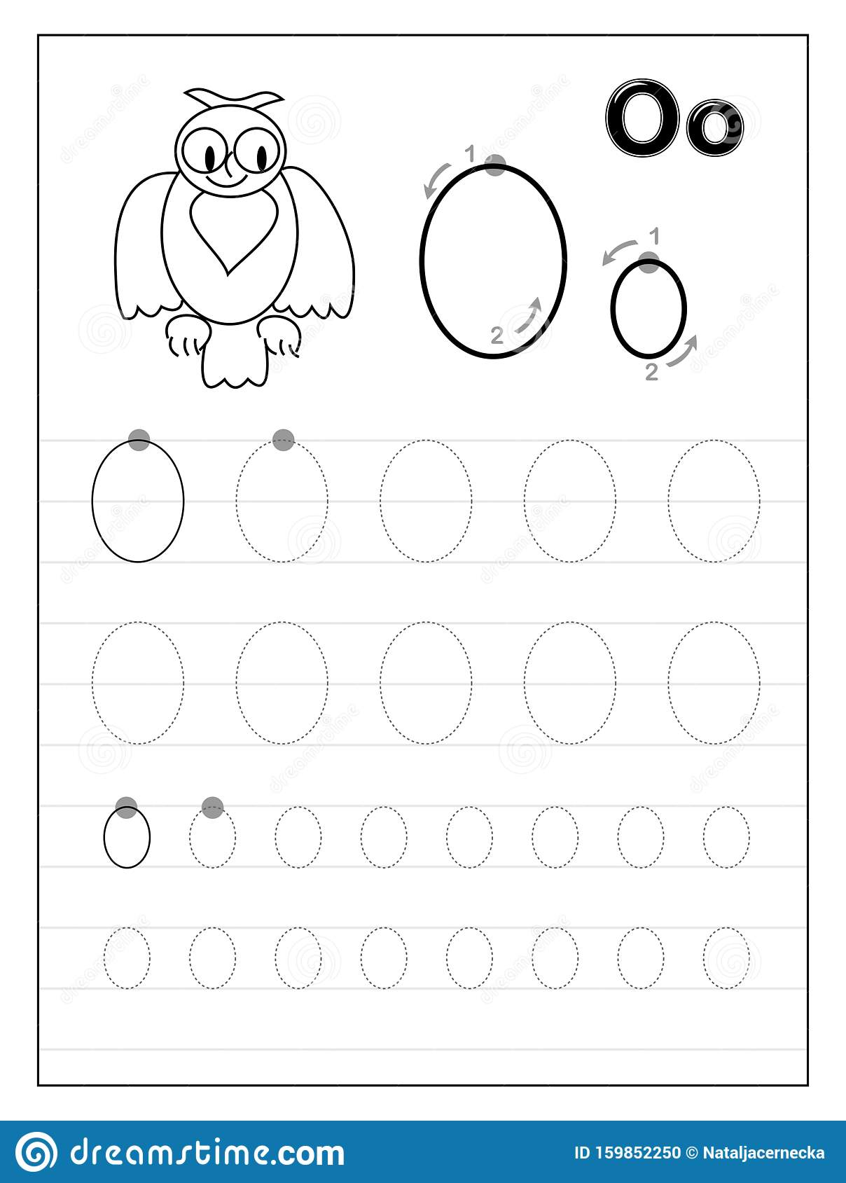 It is a graphic of Printable Letter O for activity