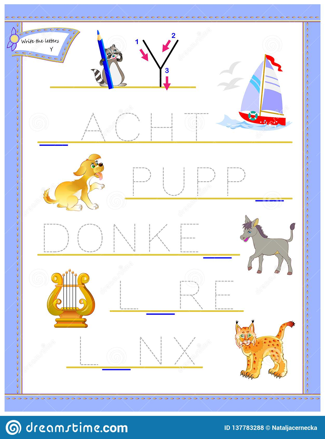 picture relating to Letter Y Printable named Tracing Letter Y For Research English Alphabet. Printable