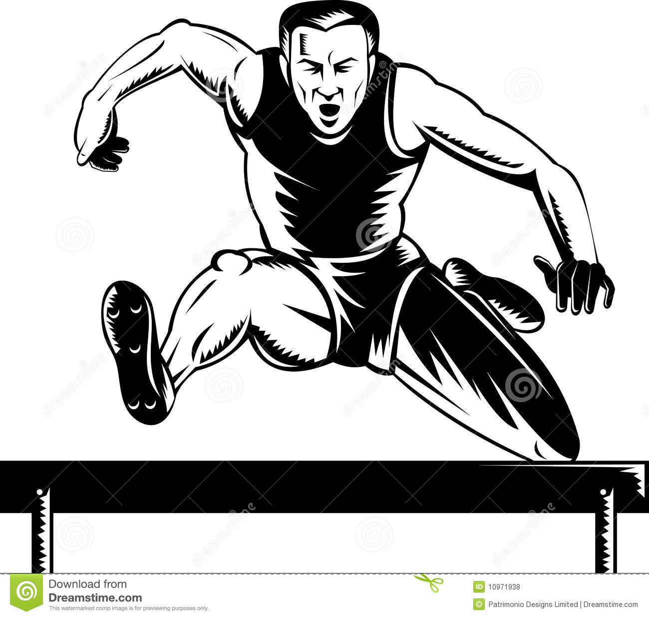 Track And Field Athlet...