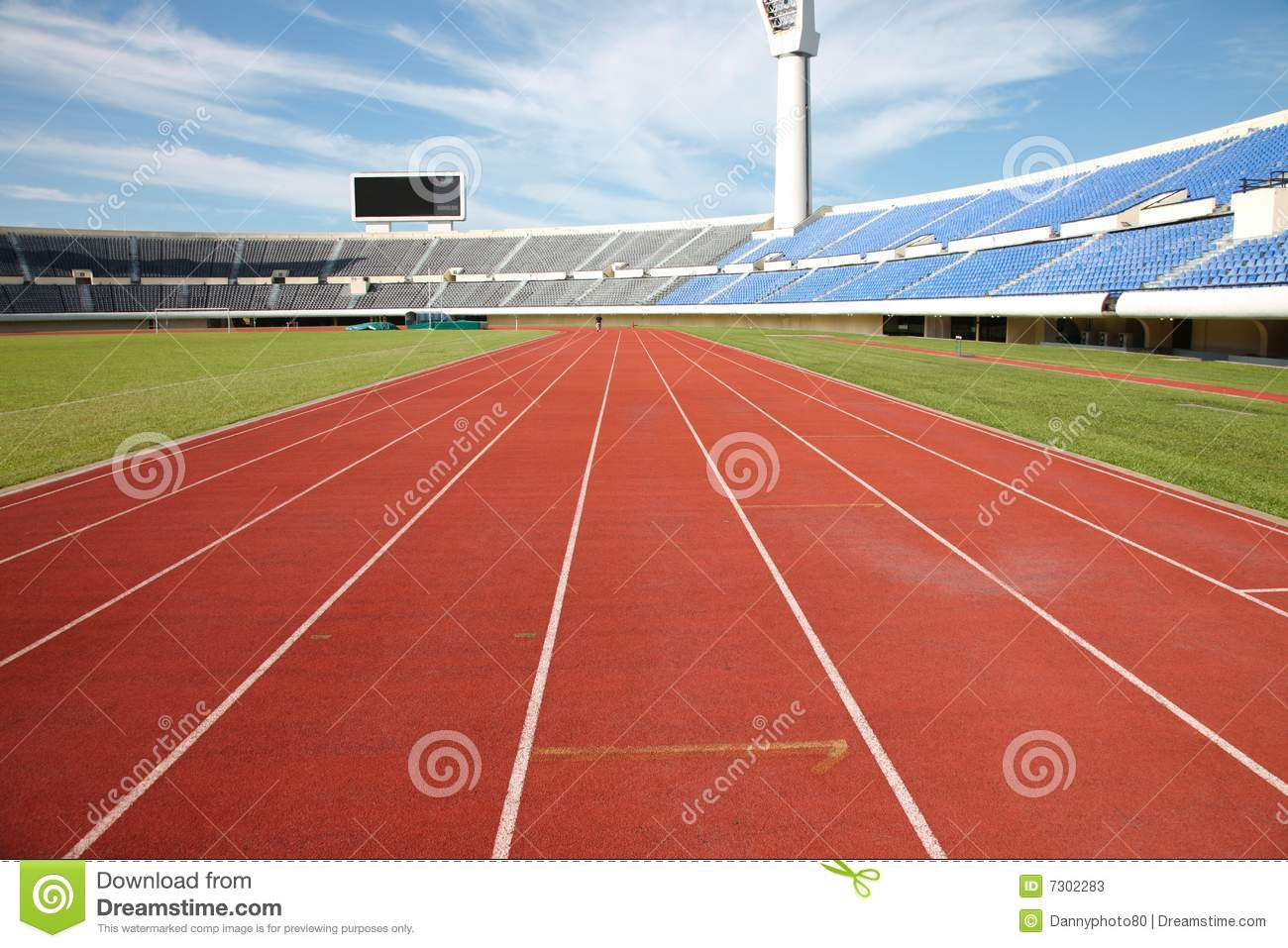 track and field stadium stock photos image 7302283 Track and Field Graphic Designs Track and Field Clip Art Black and White