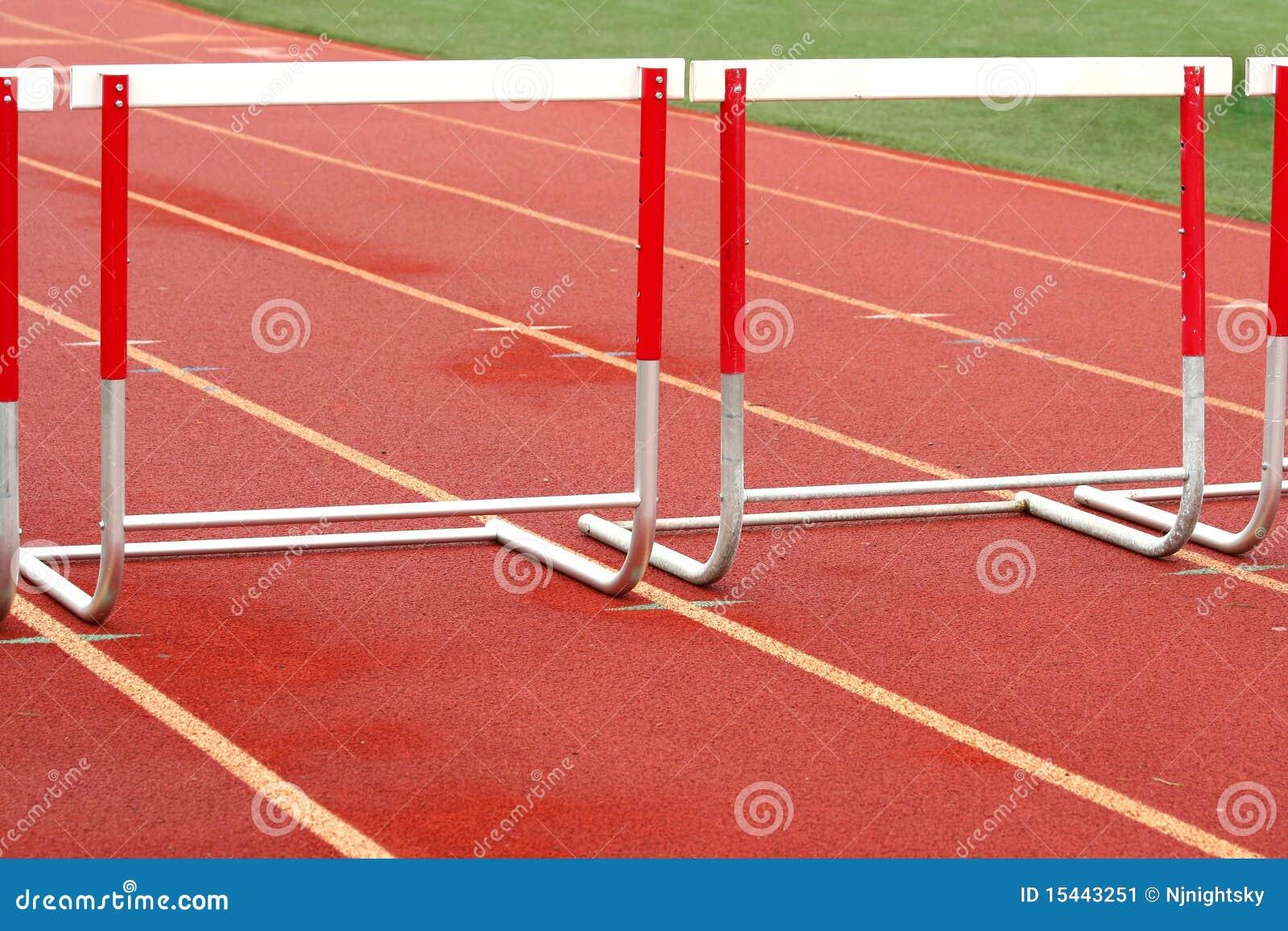 Track Hurdle Stock Ima...