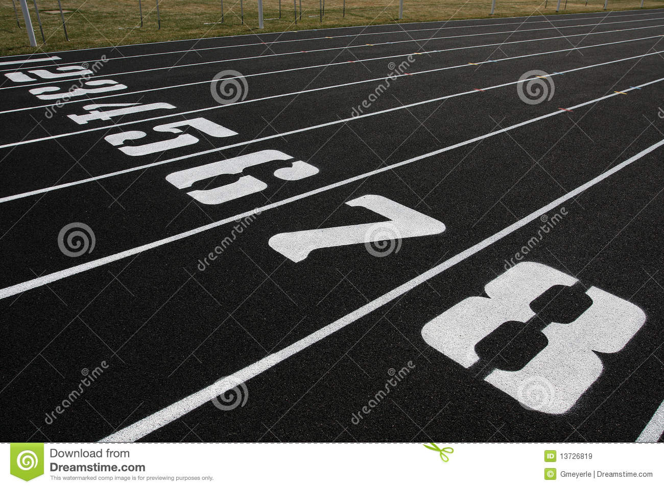 track lanes 1 8 royalty free stock images image 13726819 Track and Field Shoes Clip Art Running Clip Art Free
