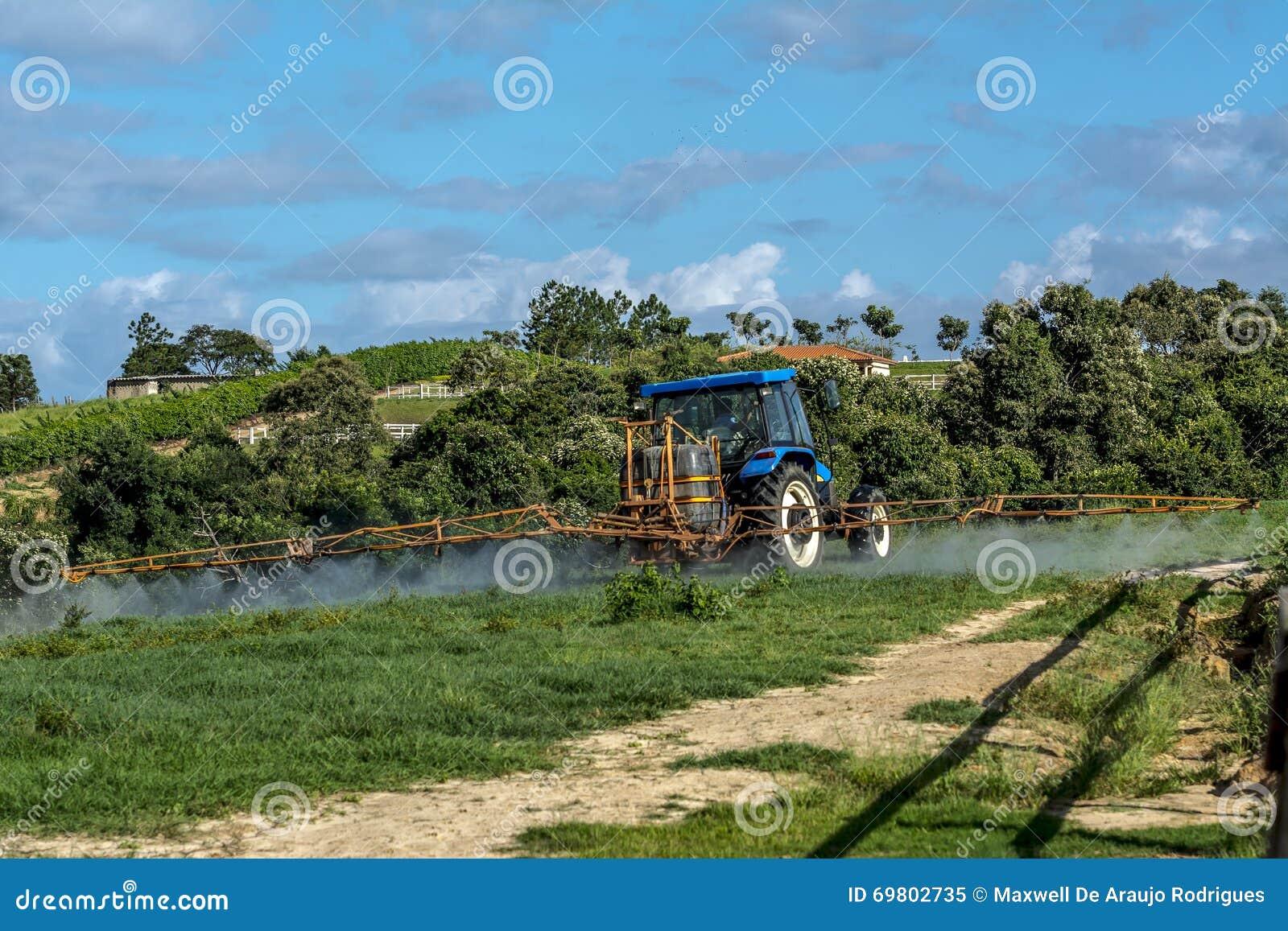 Tracteur de ferme