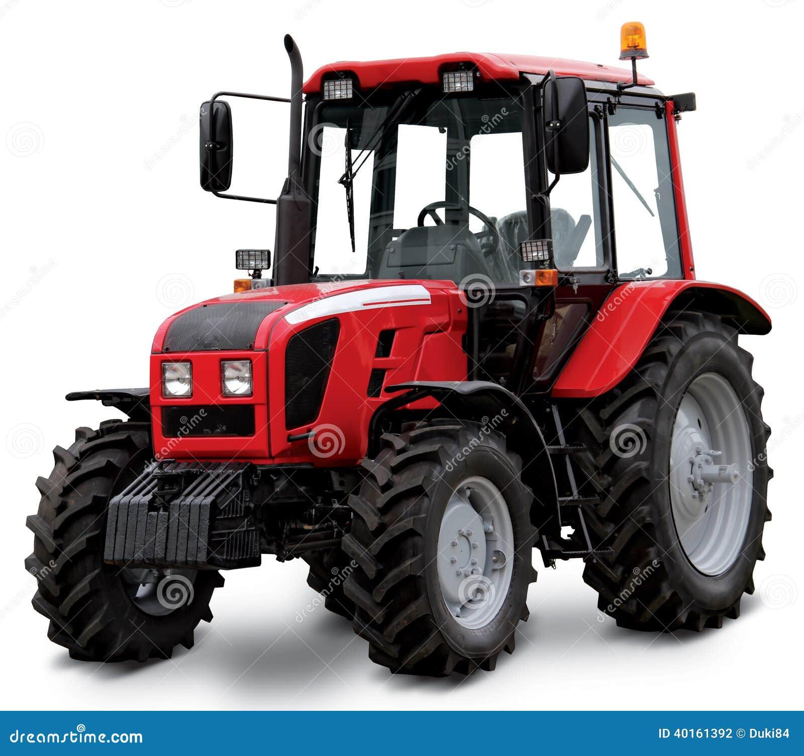 Tracteur rouge photo stock image du rouge agricole 40161392 - Image tracteur ...