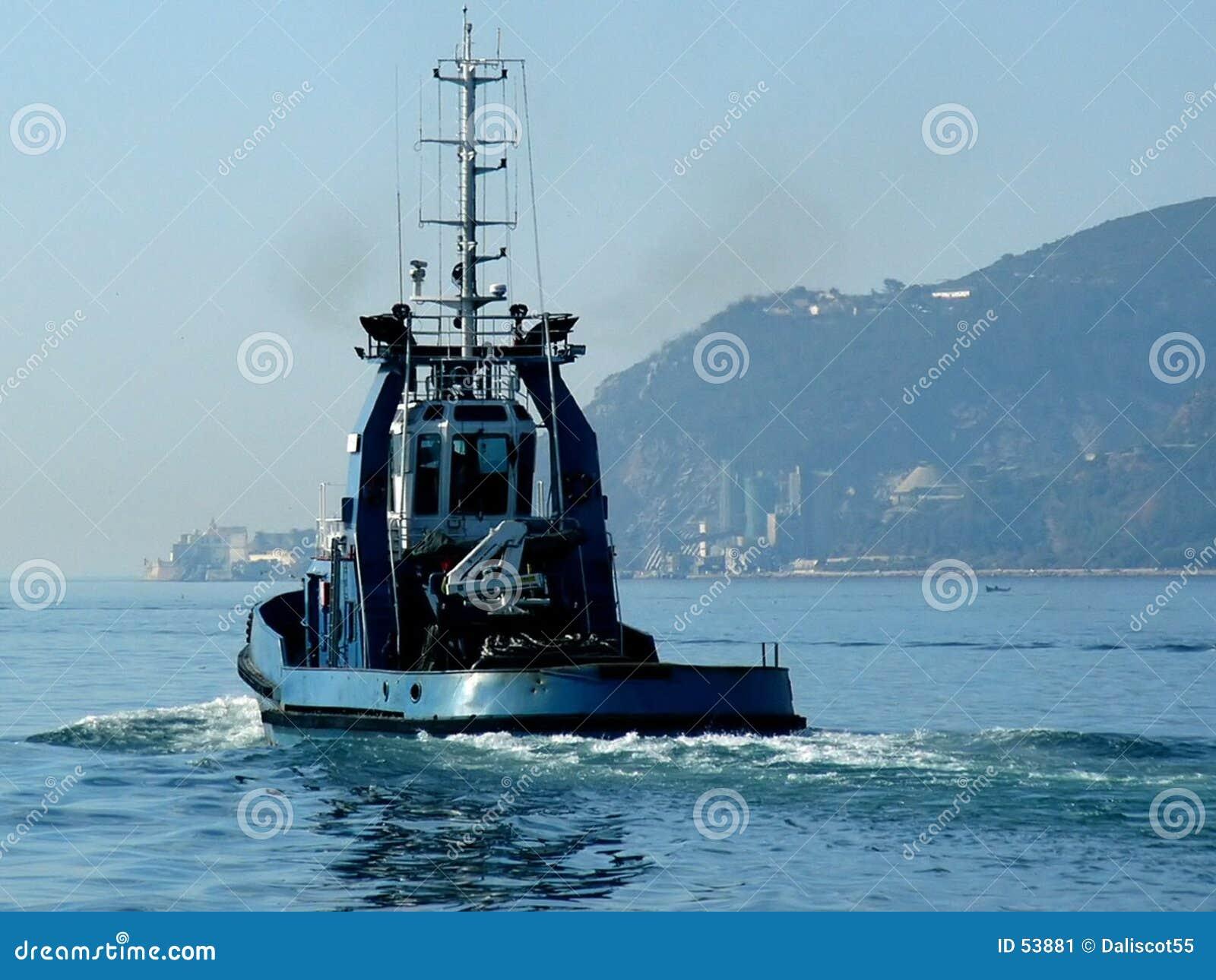 Download Traction Subite Vers La Mer Image stock - Image du montagne, sillage: 53881
