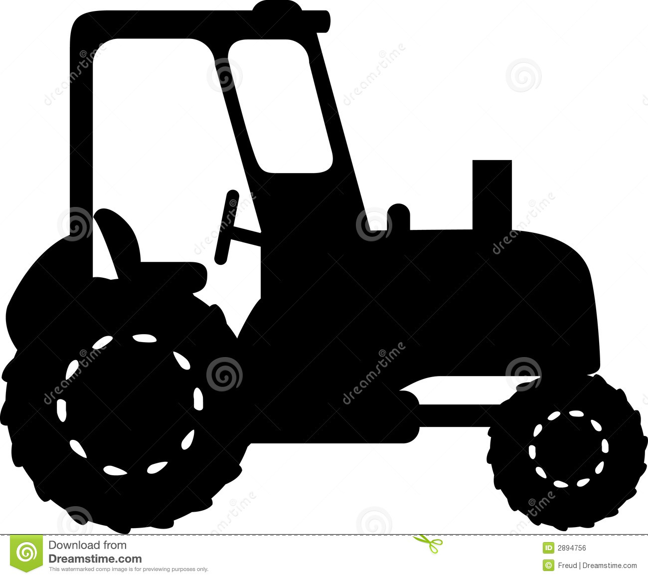 Tractor Royalty Free Stock Image - Image: 2894756