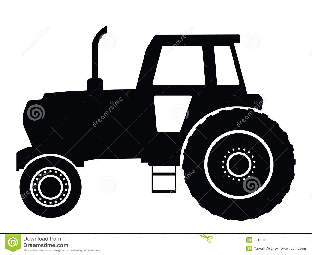 Tractor Pull Clip Art Vector : Tractor stock image