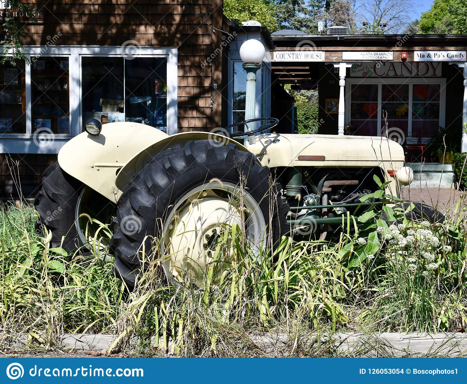 Tractor de Massey-Ferguson 35