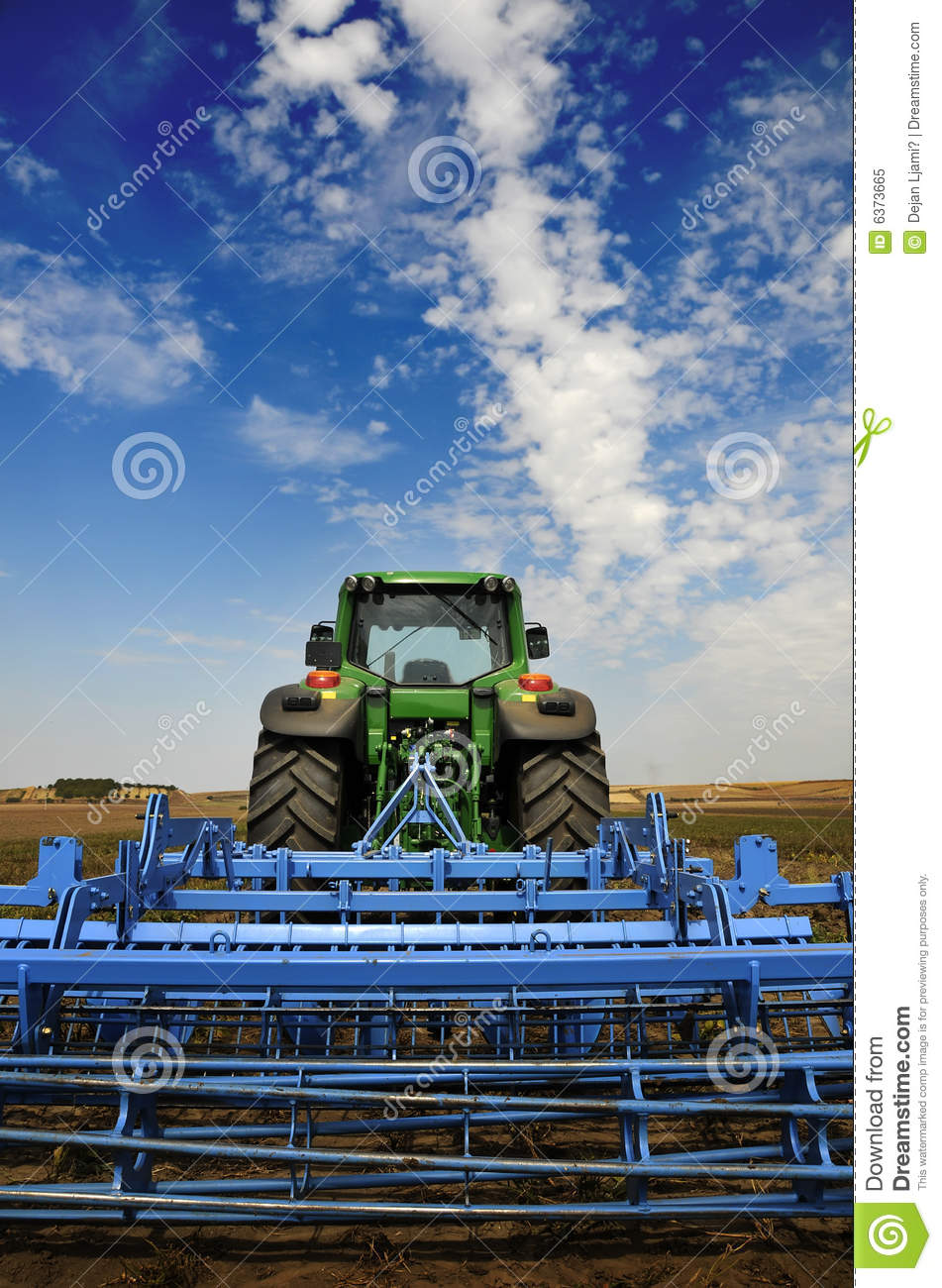 Tractor - modern agriculture equipment