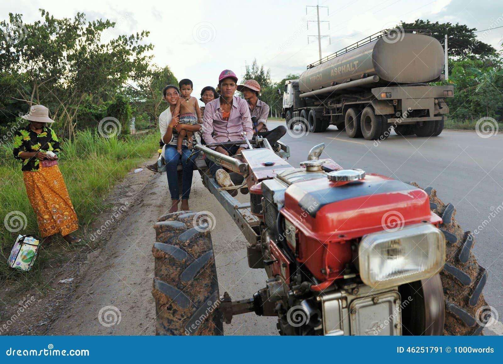Tractor Wheel Person : Tractor public transport editorial photo image