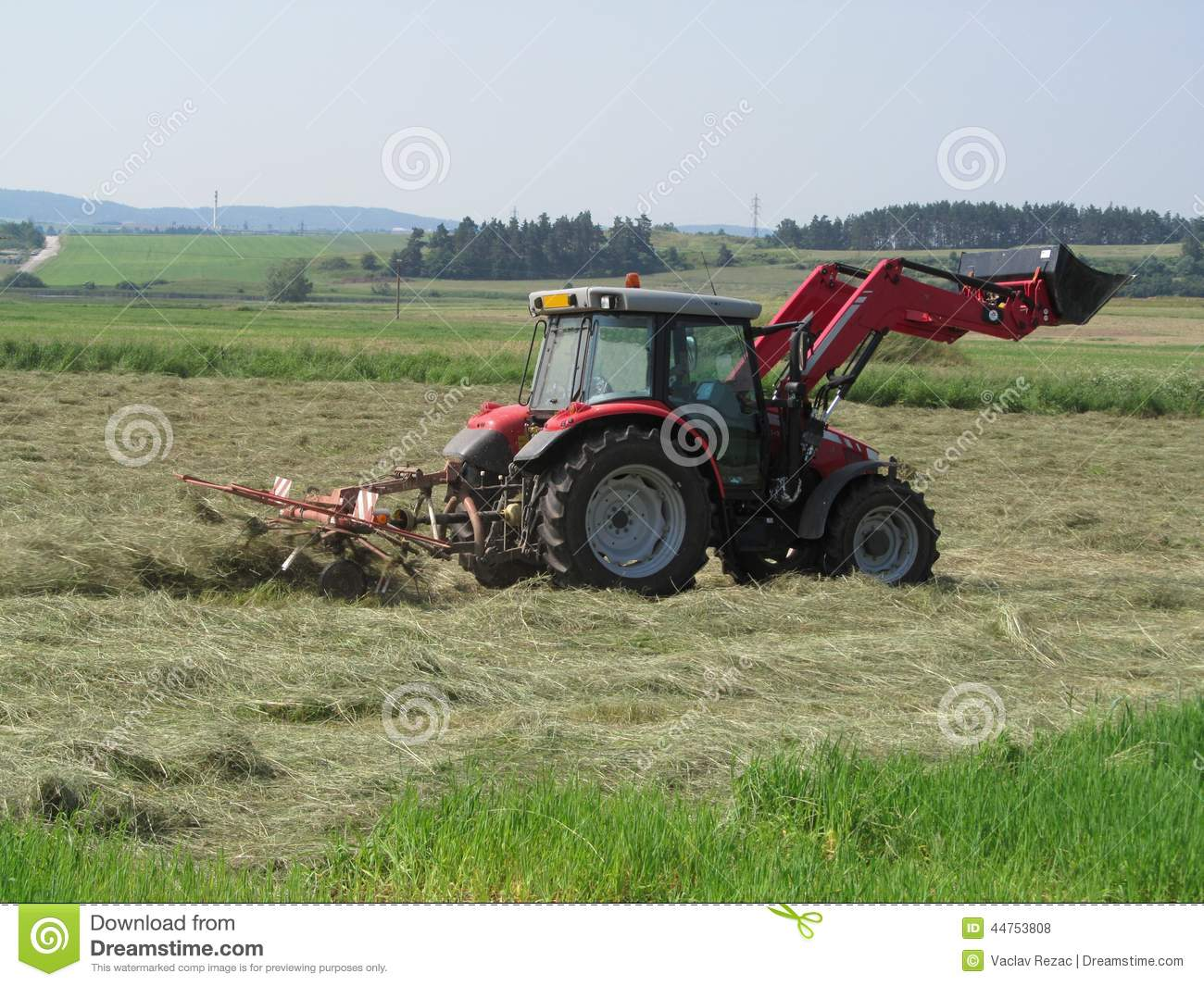 tractor stock photo image 44753808 snow plow truck clipart free Harvest Clip Art