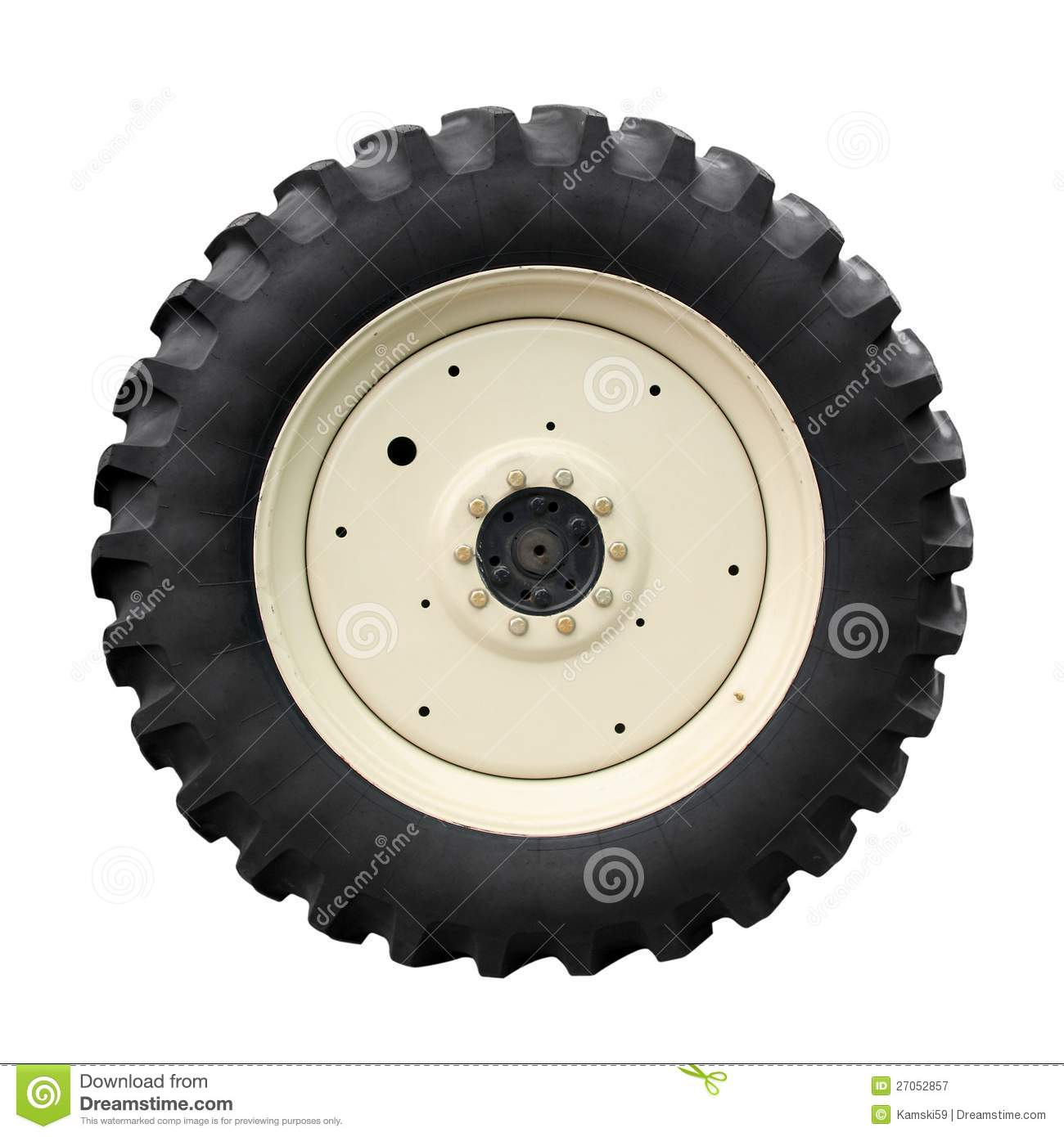 Tractor tire royalty free stock photography image 27052857 for Big tractor tires for free