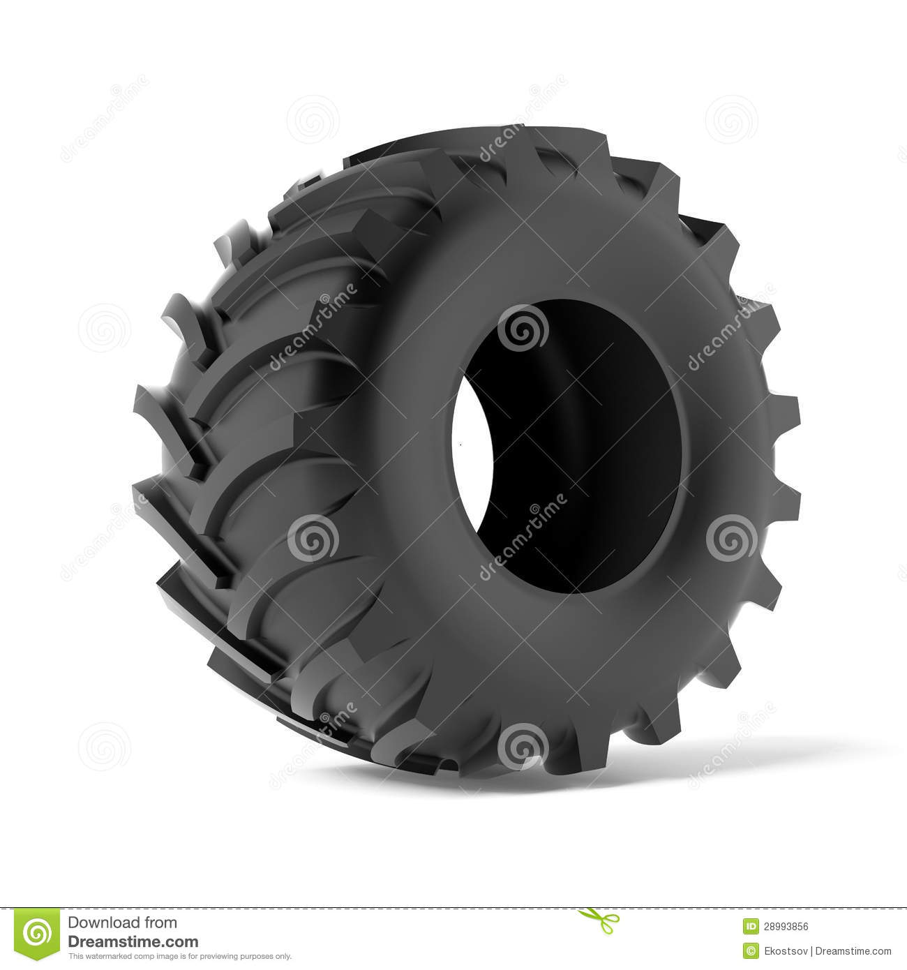 Tractor Tire Boots : Tractor tire royalty free stock image