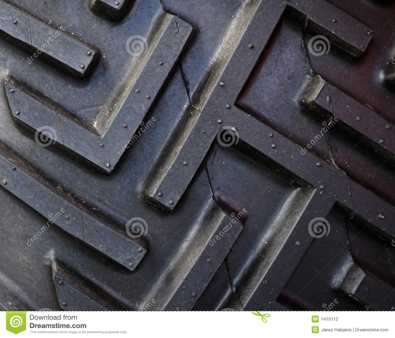 Tractor Tread Pattern : Tractor tire tread stock photo image of traction black