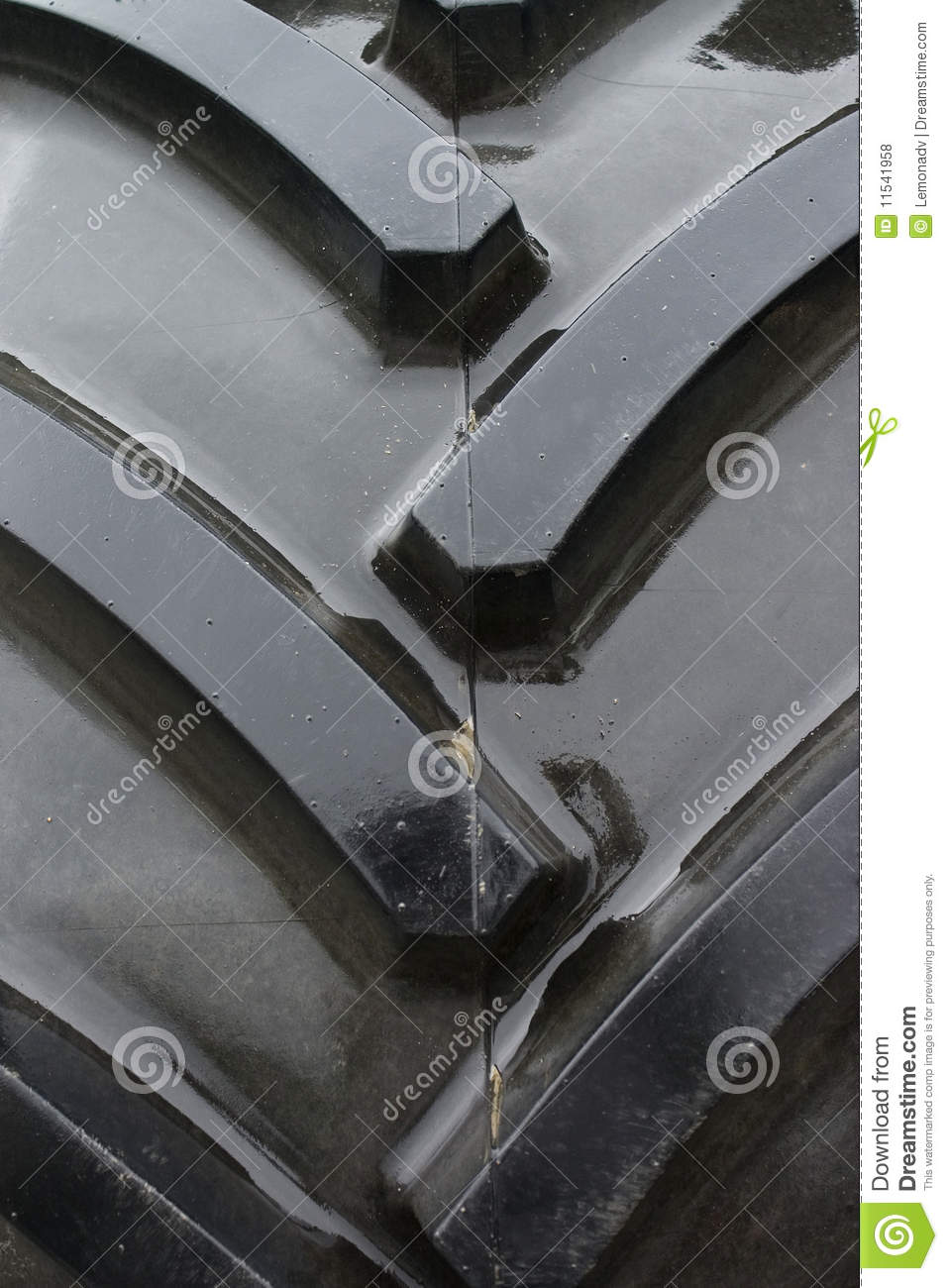 Tractor Tread Pattern : Tractor tire tread background stock photo image of