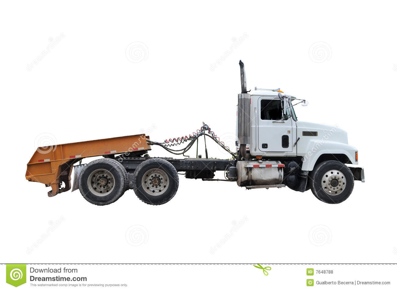 Tractor Trailer Stock : Tractor trailer royalty free stock photos image