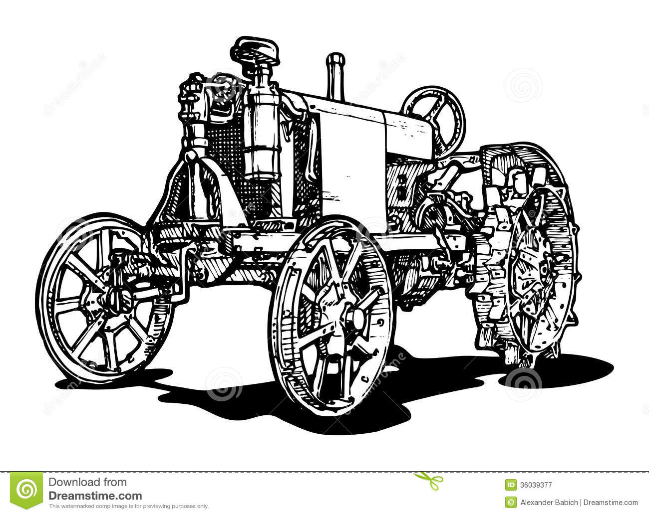 Tractor Royalty Free Stock Photography Image 36039377
