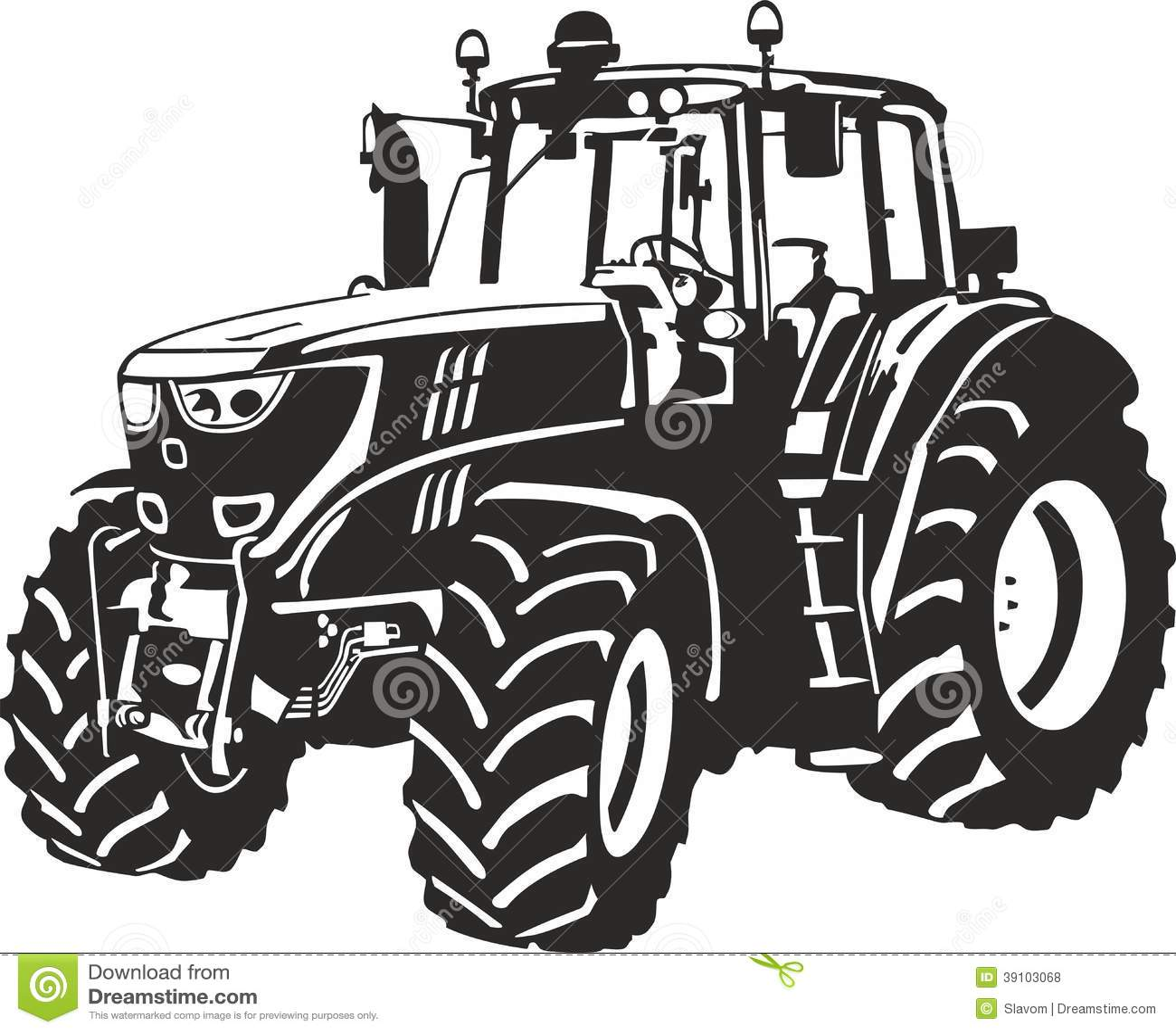 tractor stock photo image 39103068. Black Bedroom Furniture Sets. Home Design Ideas