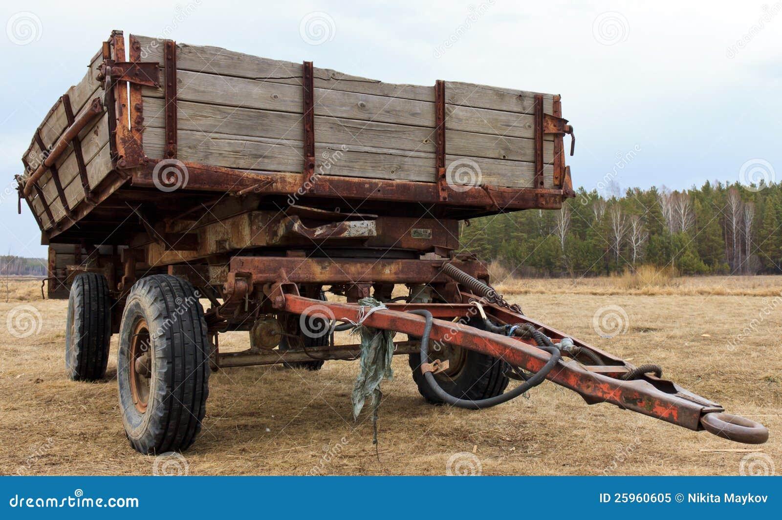 Tractor Wagon Royalty Free Stock Photo