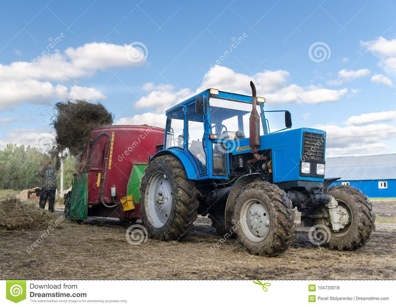 Tractor Wit-Rusland