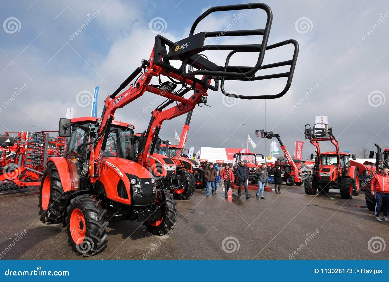 Tractores de la marca de Zetor
