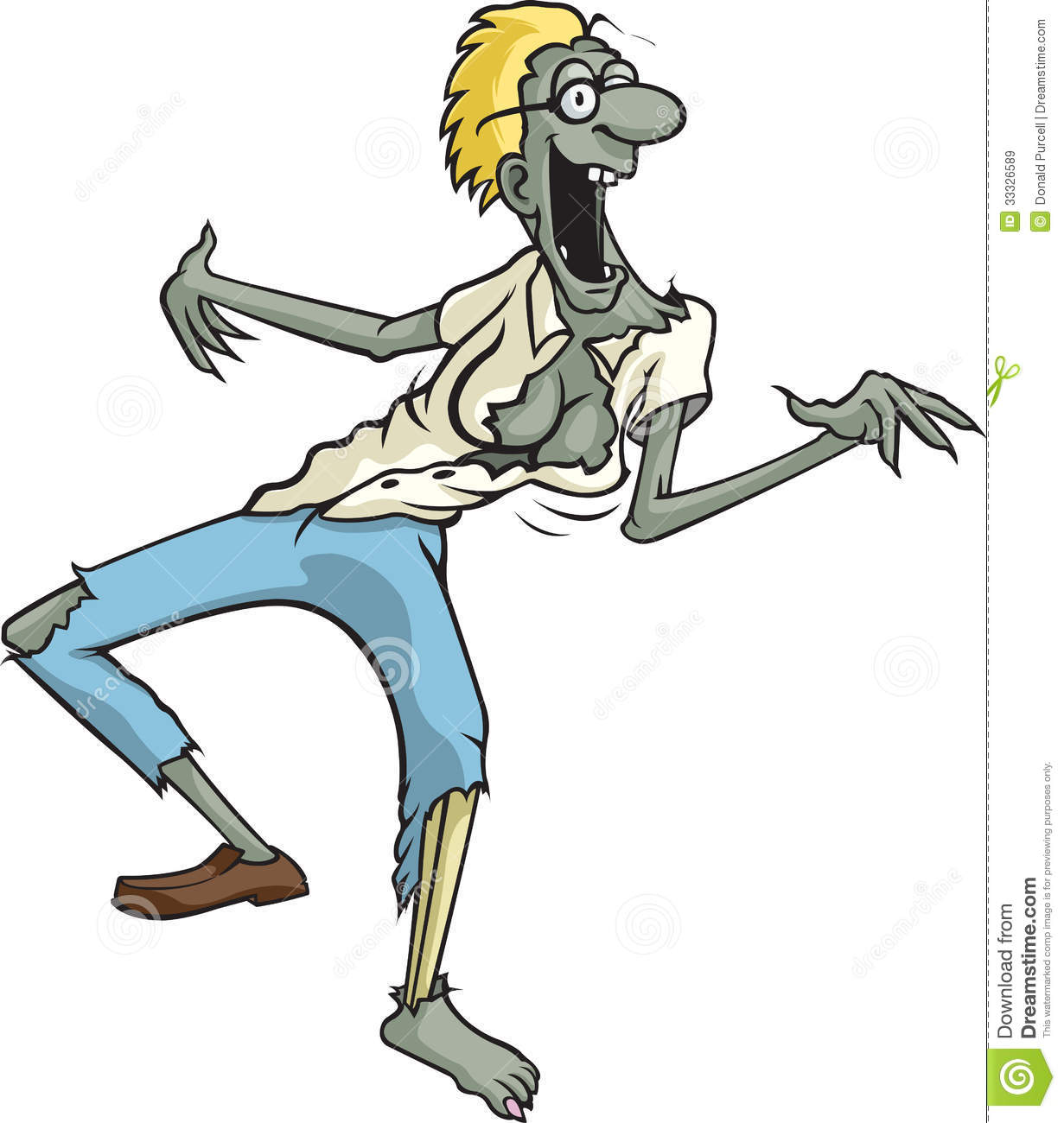tracy of the dead stock vector  image of funny  voodoo
