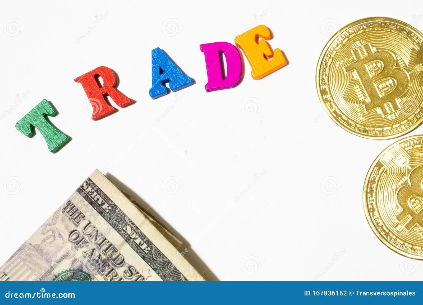 trade bitcoin for money