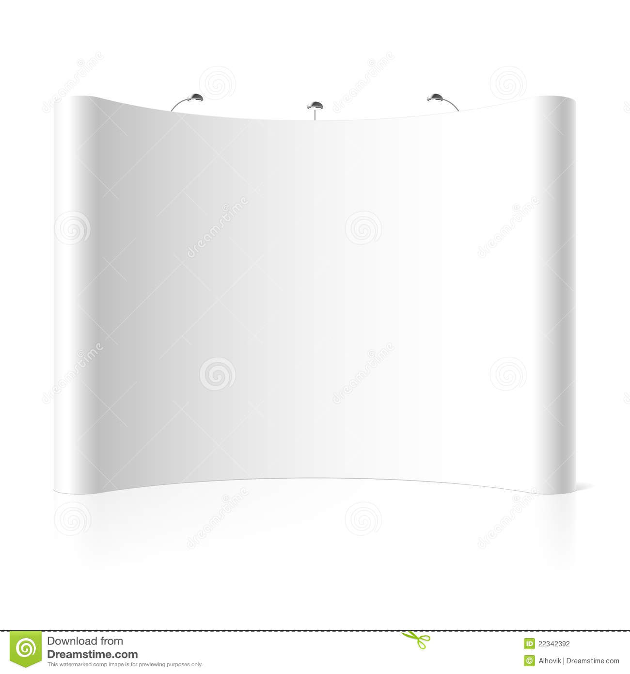 Trade Exhibition Stand Vector : Trade exhibition stand stock vector illustration of