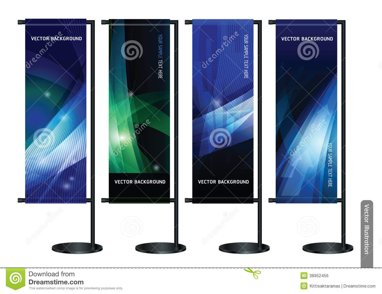 Exhibition Stand Vector Free Download : Trade exhibition stand display background stock vector