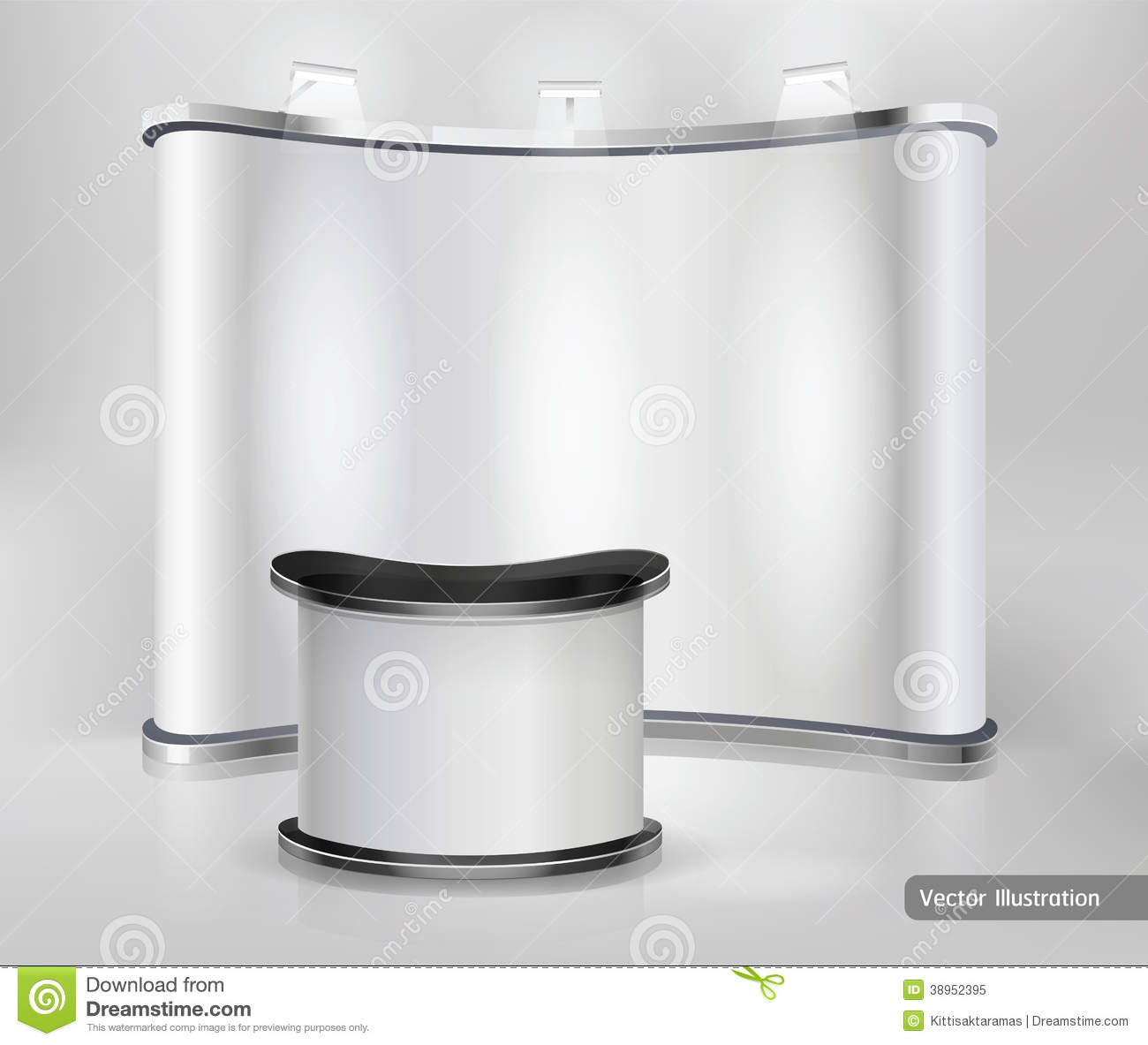 Exhibition Stand Wallpaper : Trade exhibition stand royalty free stock photo