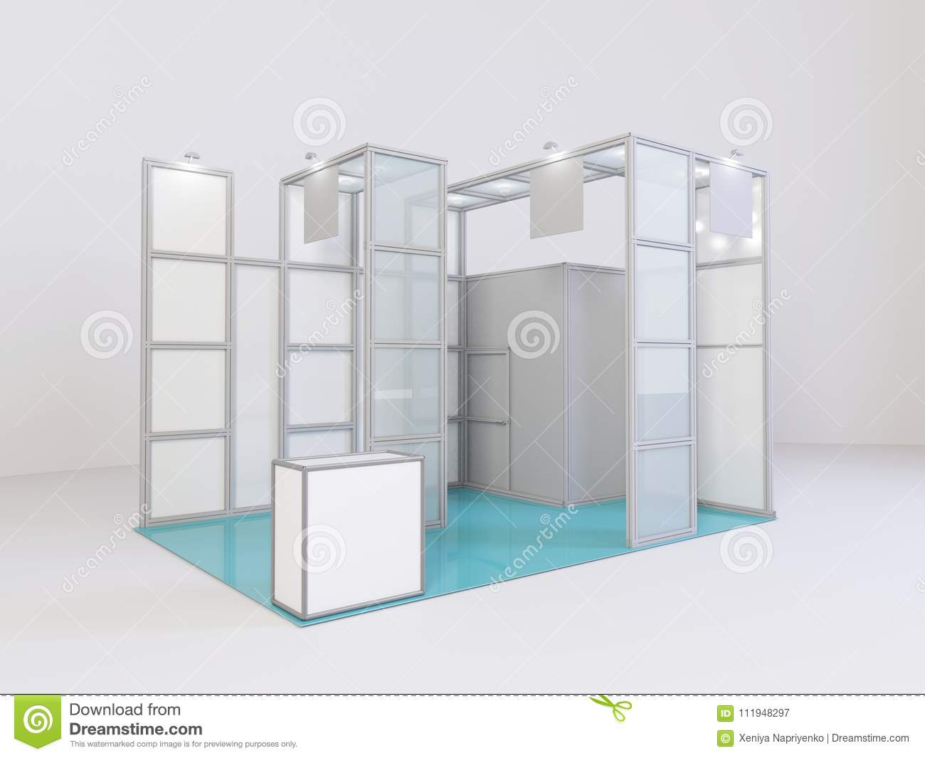 Exhibition Stall D Model Free Download : Exhibition d models cgtrader