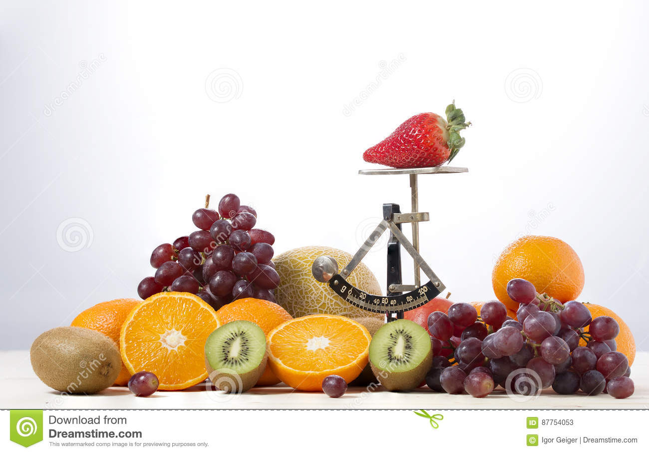 Trade With Fresh Juicy Fruits With Old Kitchen Stock Image - Image ...