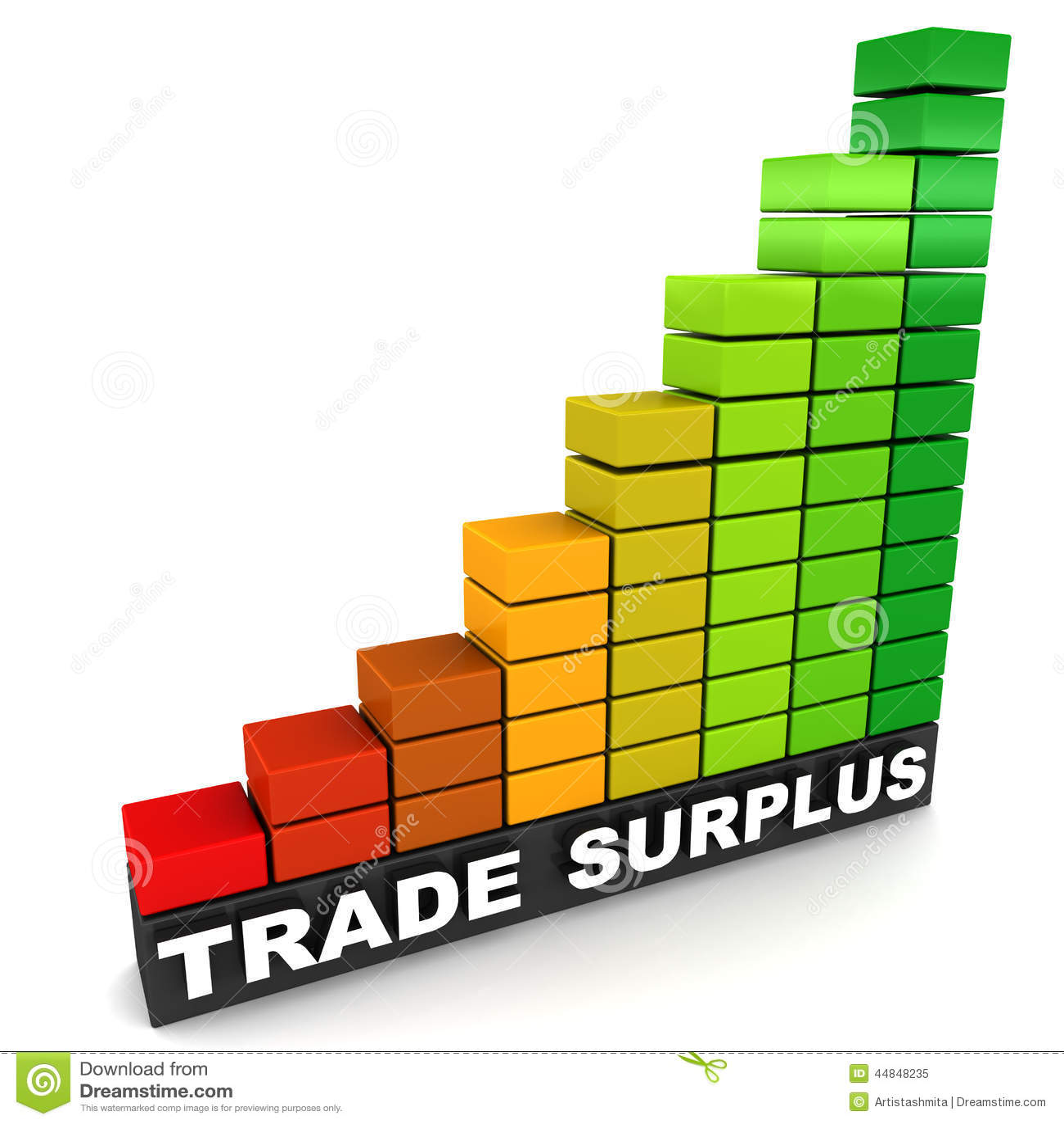 trade surplus illustration 44848235 megapixl