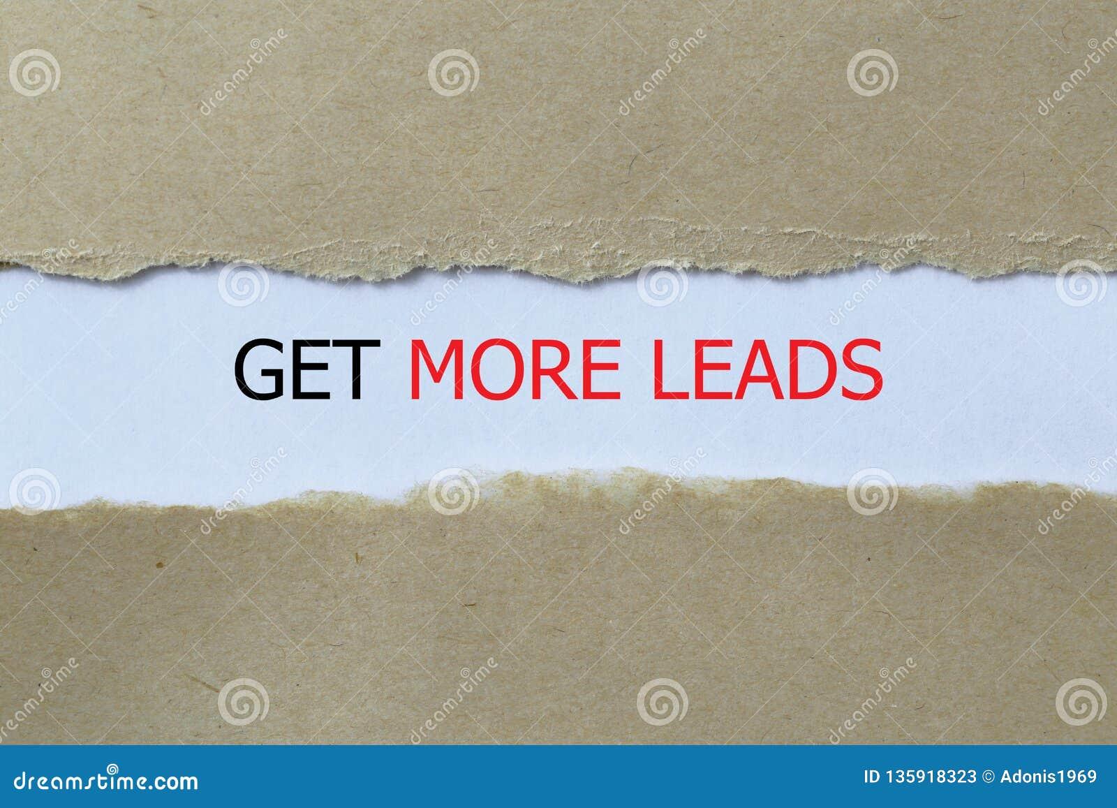 Get more leads illustration