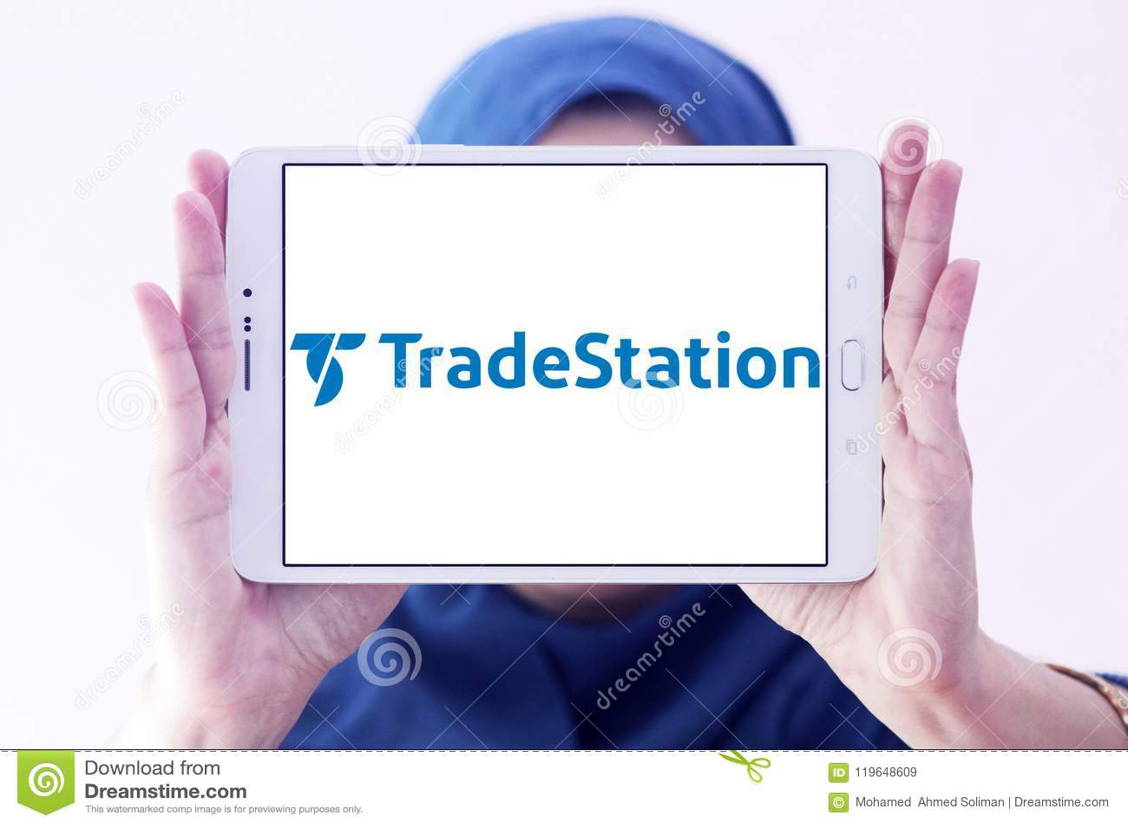 TradeStation company logo editorial stock image. Image of ...