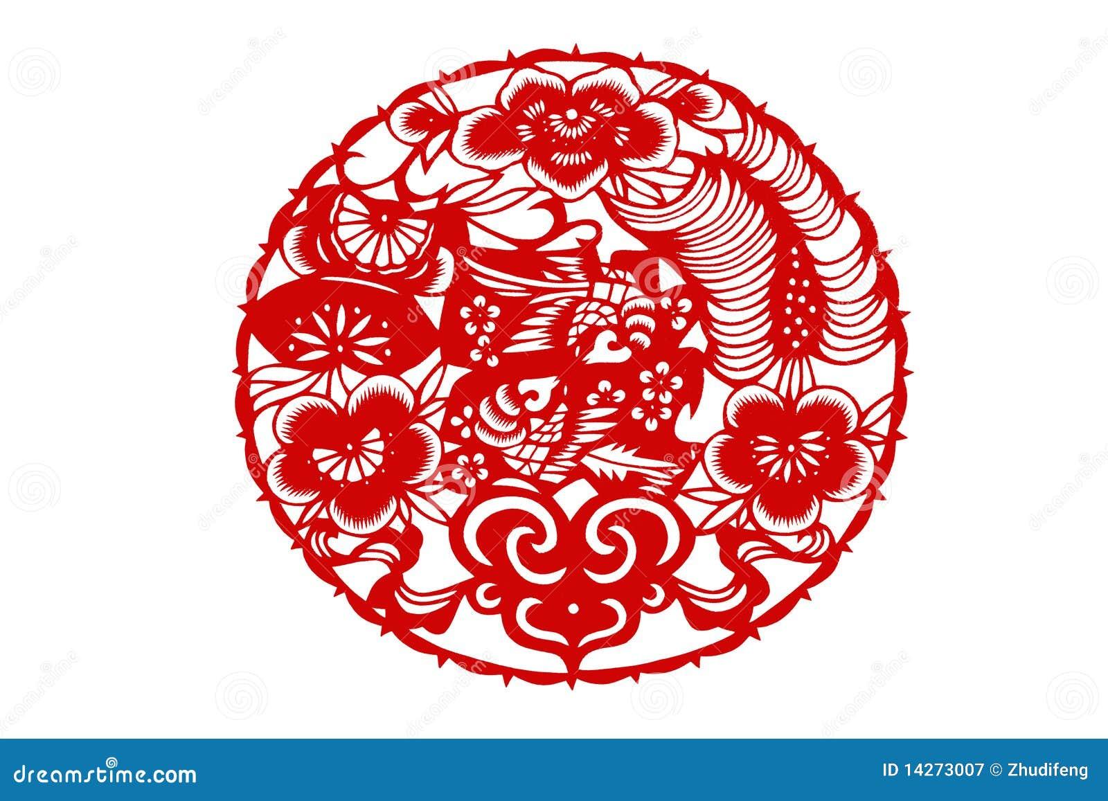 Tradicional papel-corte