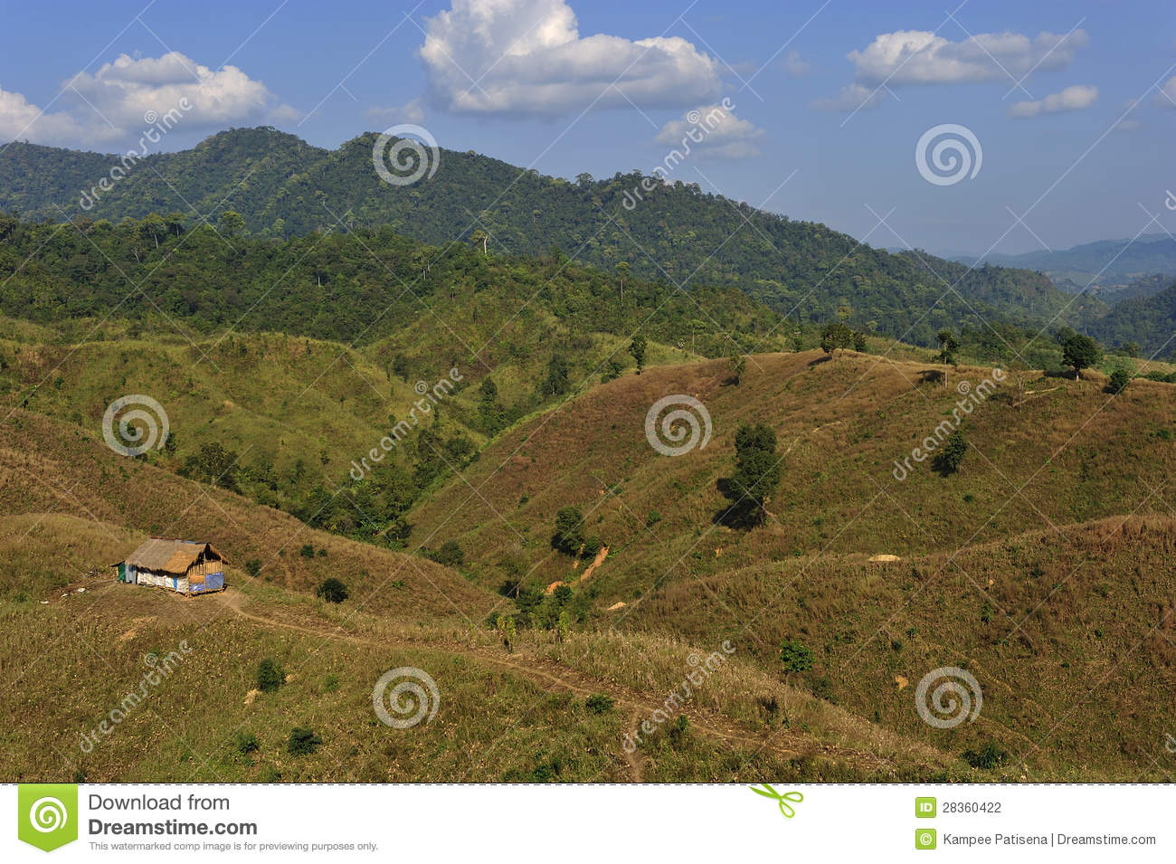 ... In Nan Province, North Of Thailand Stock Photography - Image: 28360422