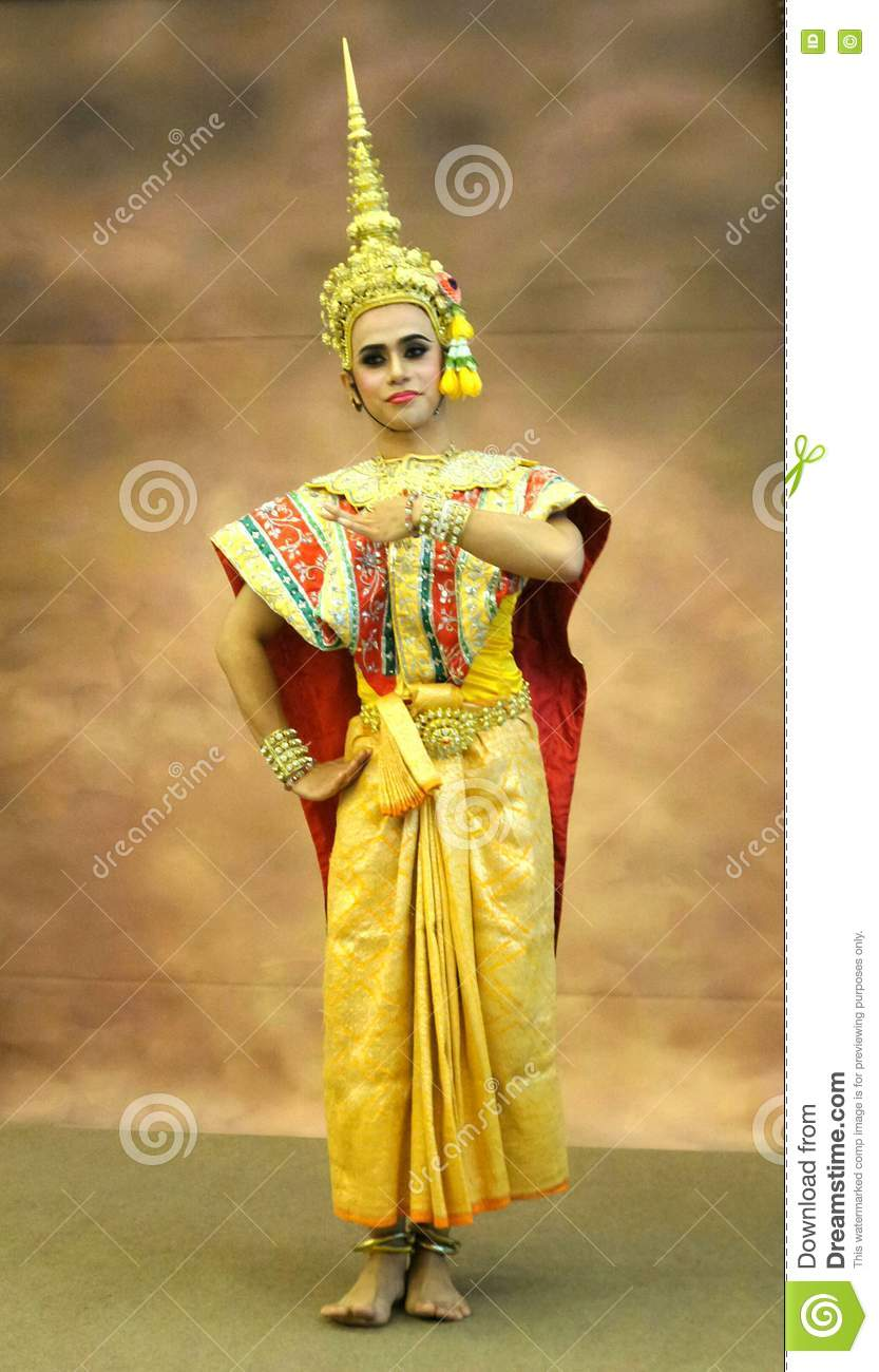 Tradition Thai Classical dancing