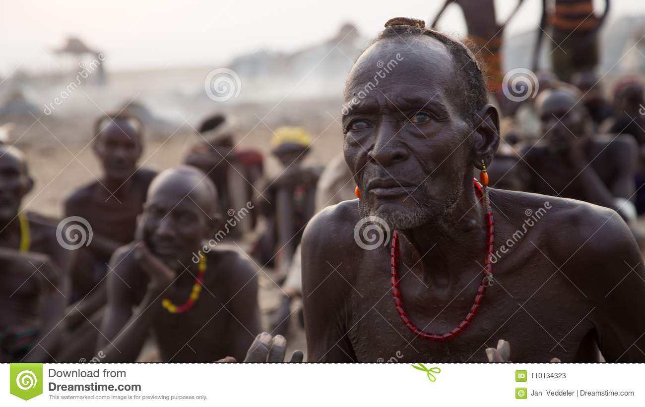 Traditional African Tribesmen