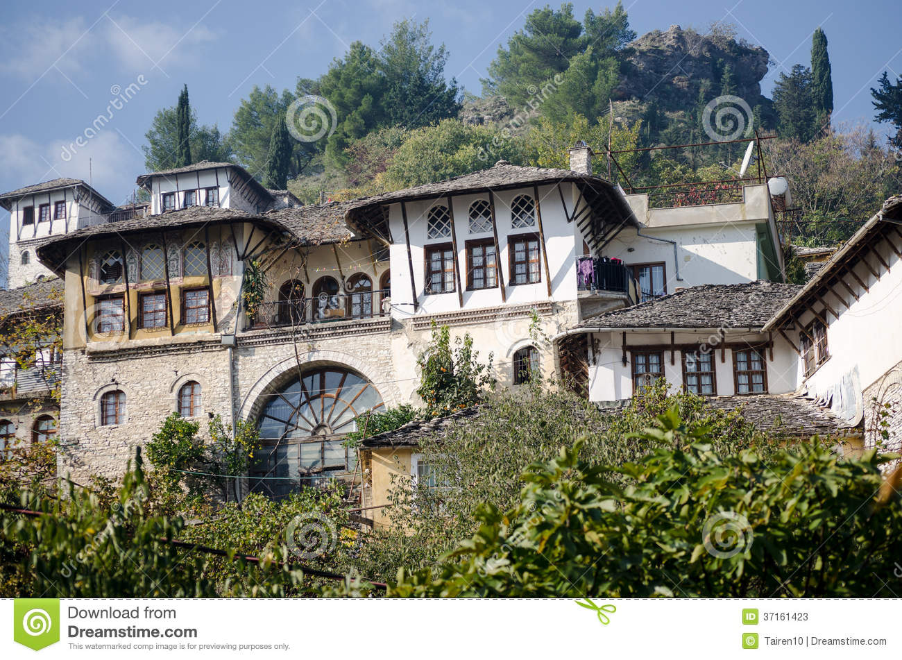 Traditional Albanian House Stock Image Image Of Culture